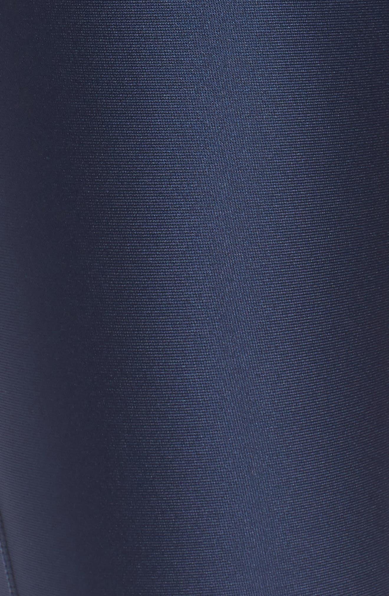 Fly Fast HeatGear<sup>®</sup> Crop Leggings,                             Alternate thumbnail 6, color,                             Academy Blue