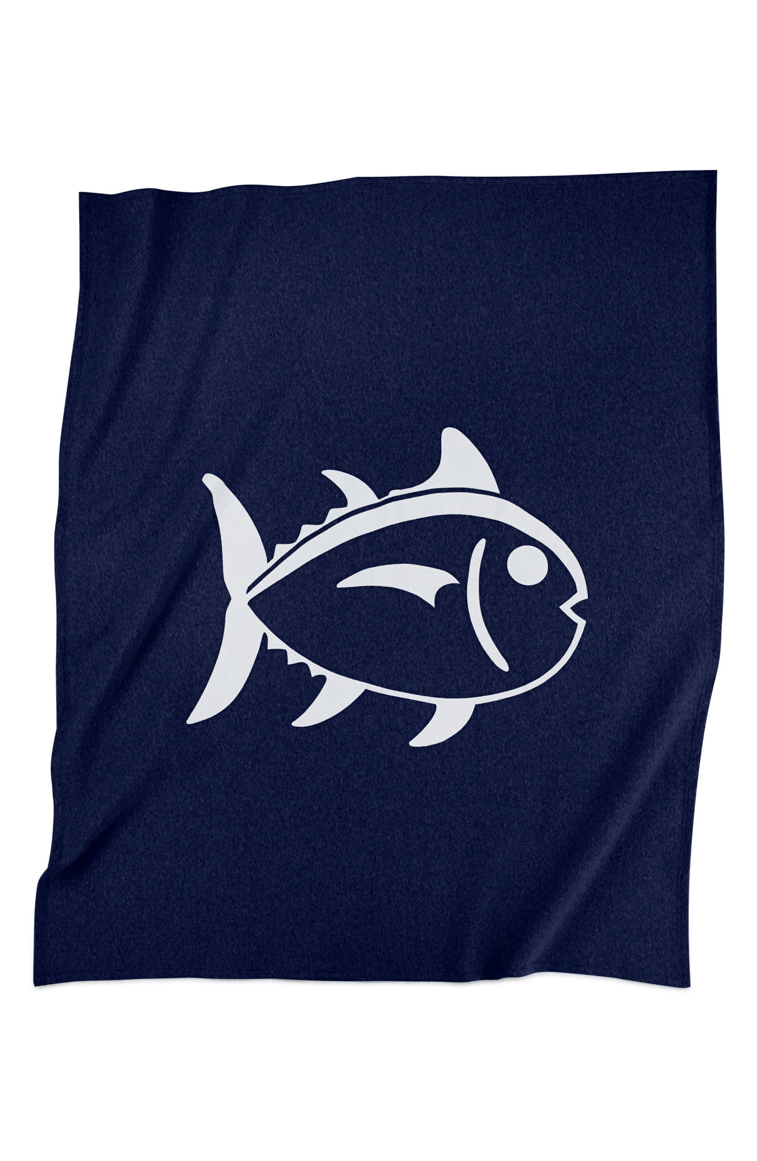 Skipjack Jersey Throw,                         Main,                         color, Navy