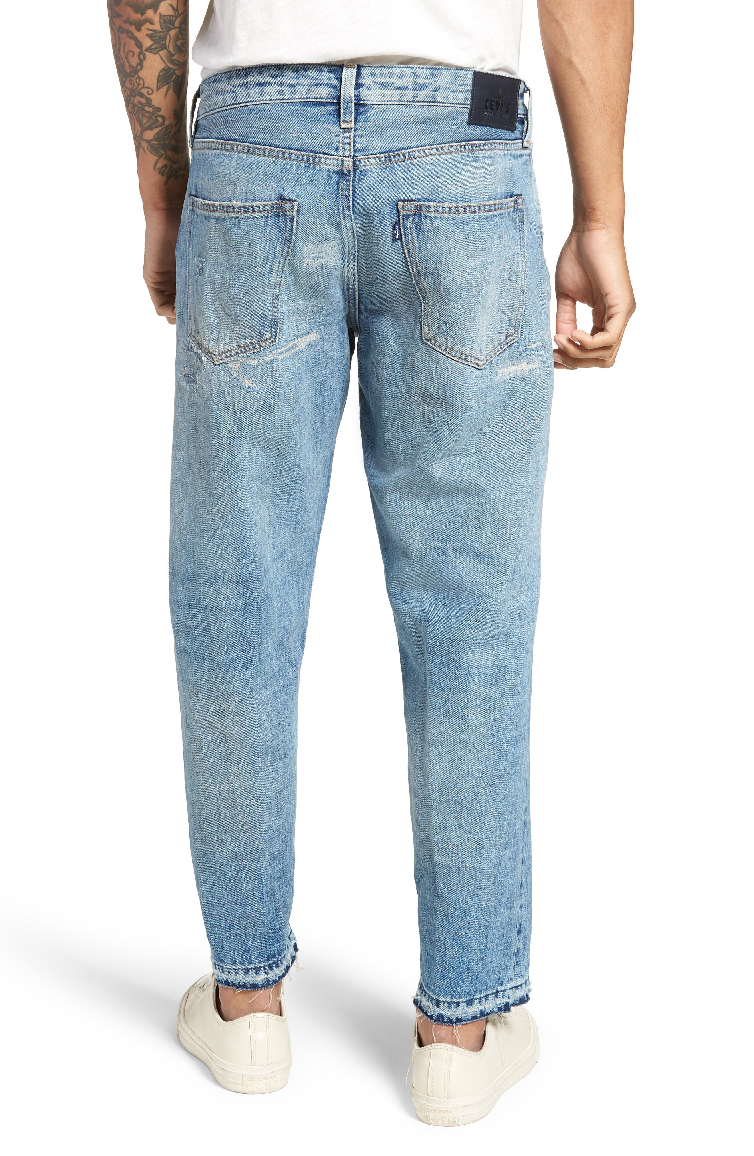 Draft Taper Standard Fit Jeans,                             Alternate thumbnail 2, color,                             Banzai Pipeline