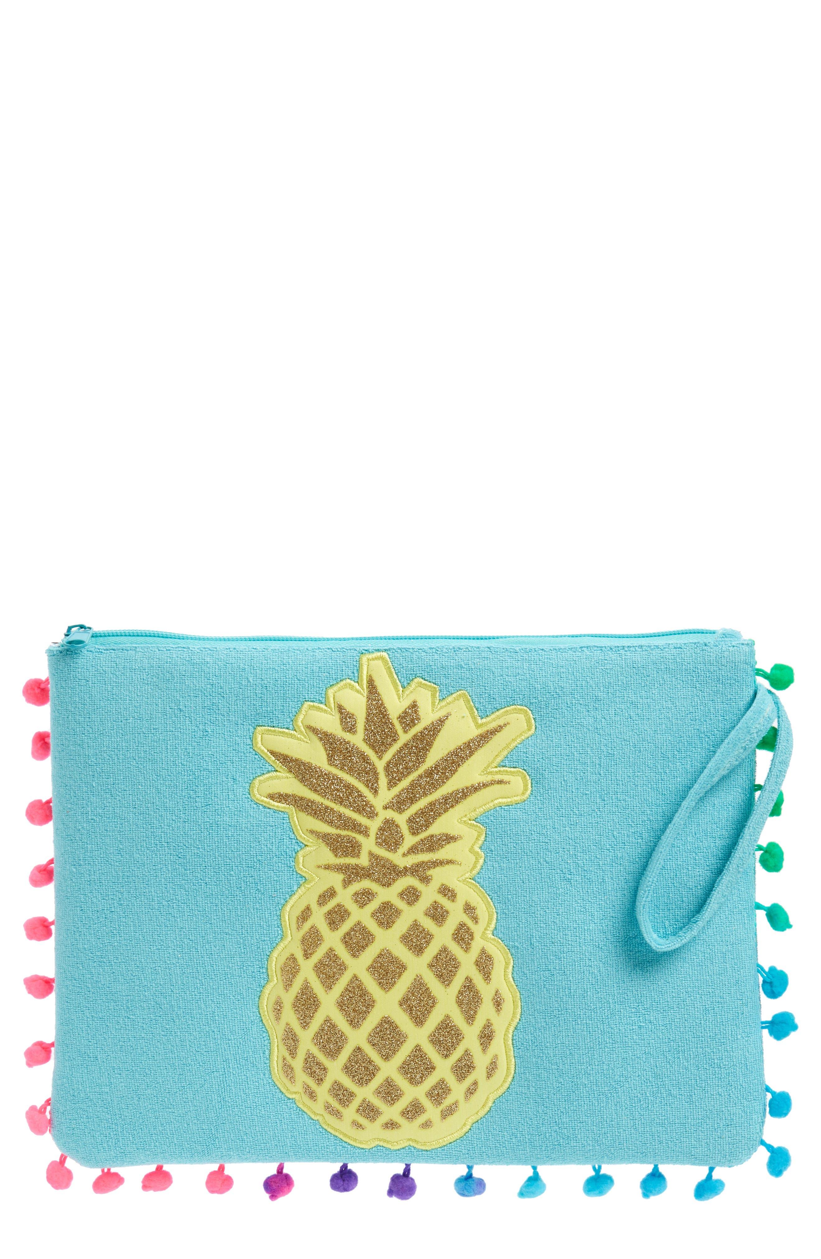 Capelli New York Pineapple Pompom Bikini Bag (Girls)