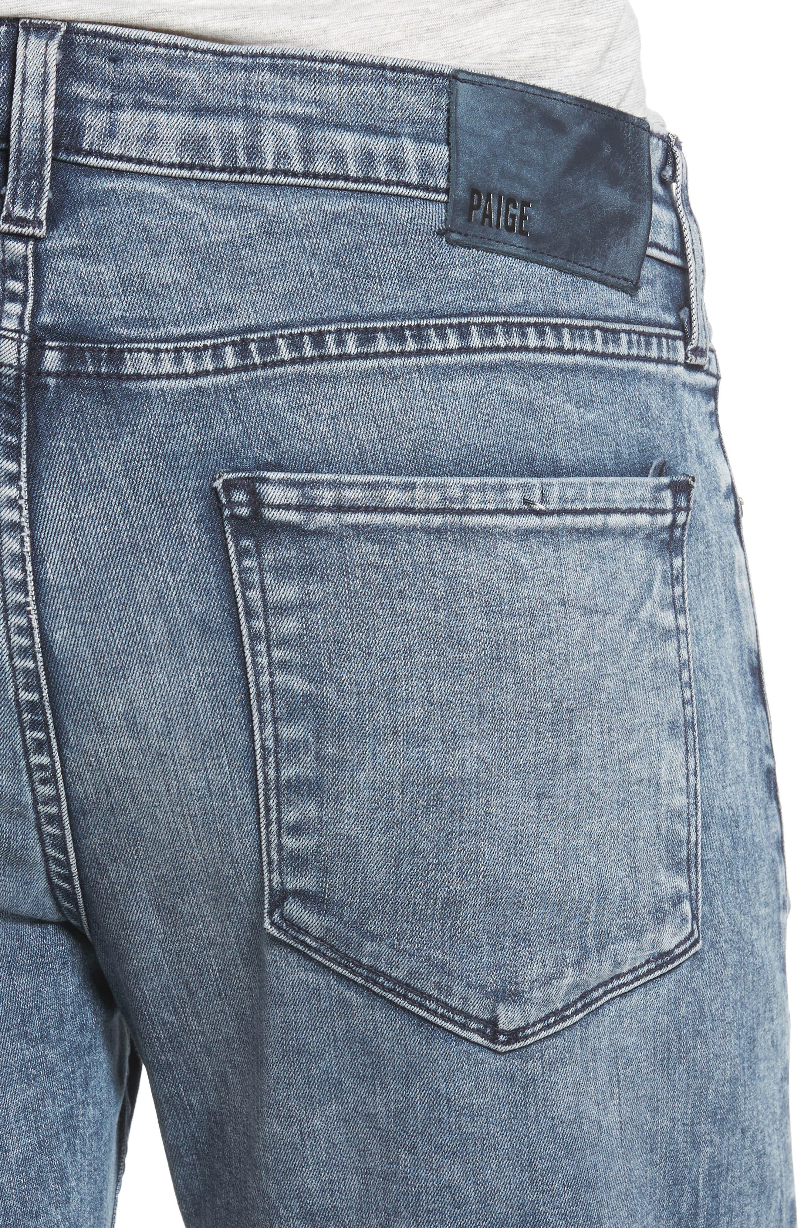 Transcend - Lennox Slim Fit Jeans,                             Alternate thumbnail 4, color,                             Higgs