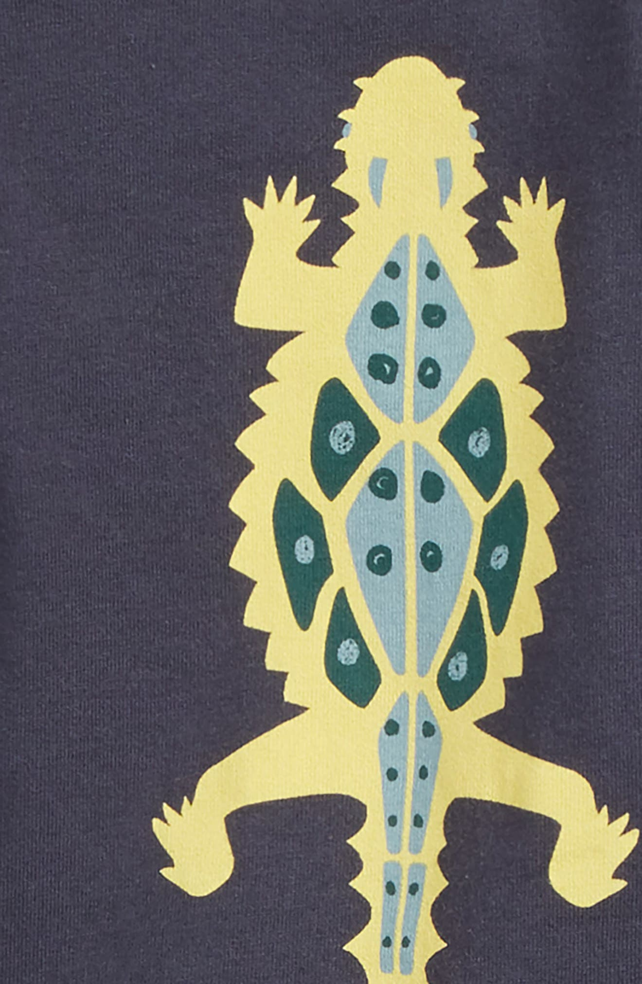 Desert Lizard T-Shirt & Cargo Shorts Set,                             Alternate thumbnail 2, color,                             Indigo