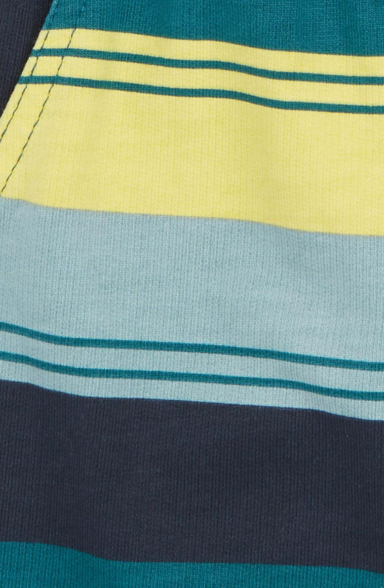 Stripe Cruiser Shorts,                             Alternate thumbnail 2, color,                             Indigo Tri-Stripe