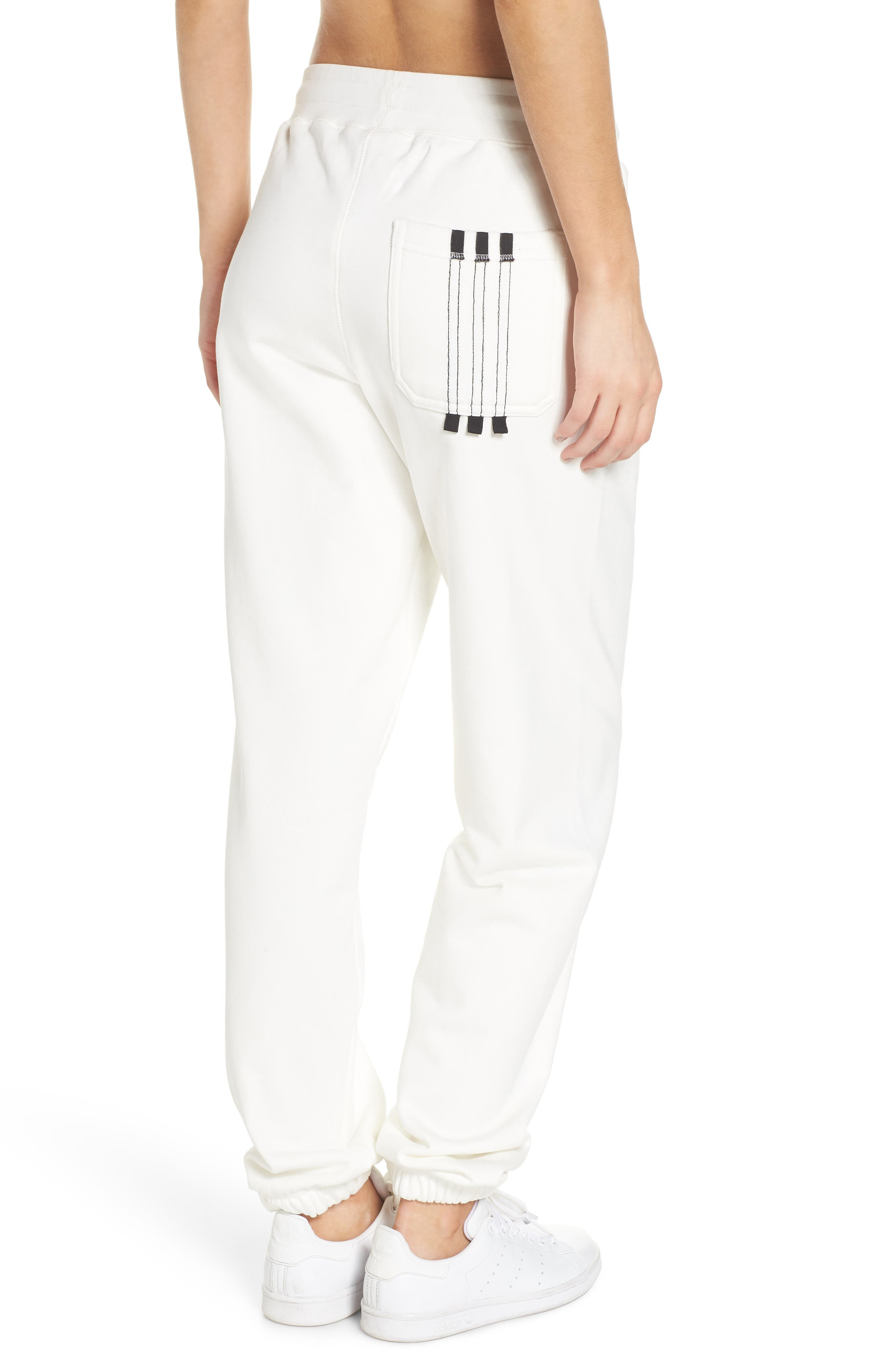 Alternate Image 2  - adidas x Alexander Wang Graphite Jogger Pants