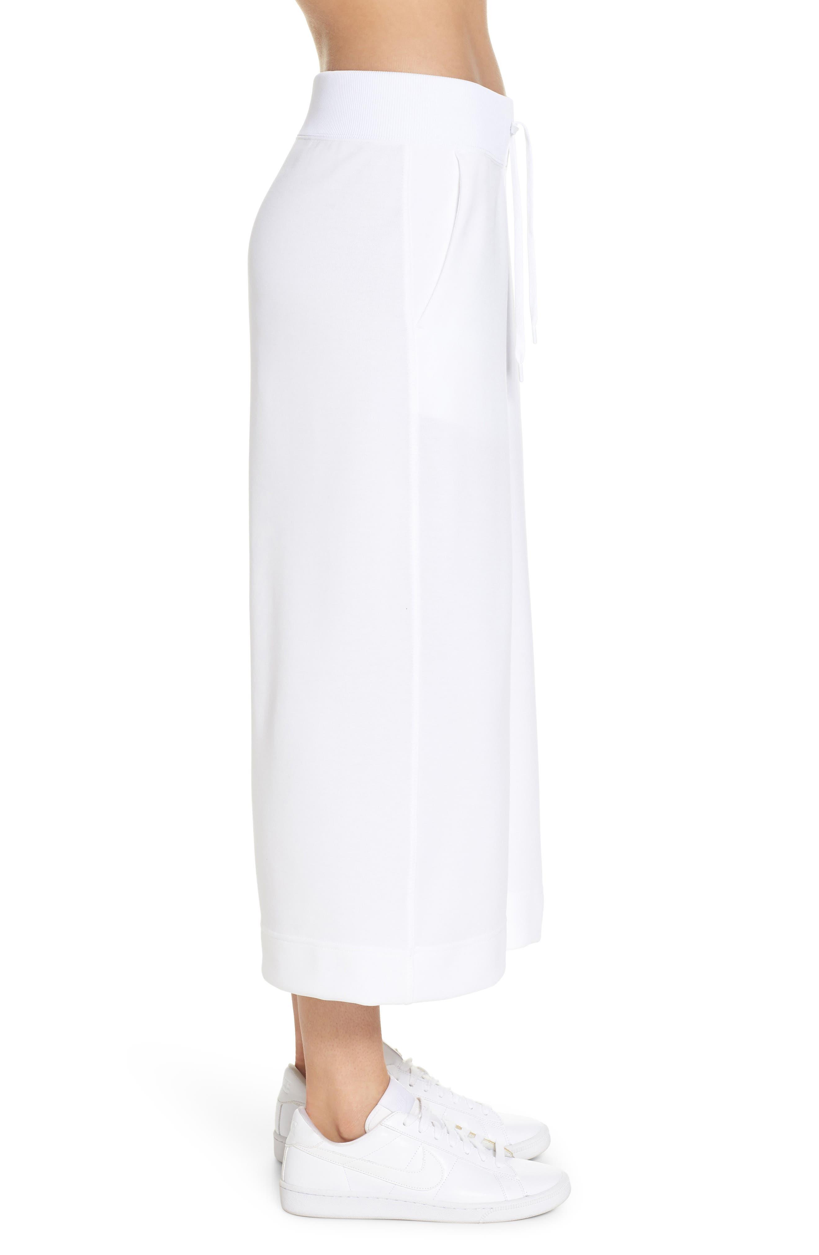 Sportswear Beautiful x Powerful Crop Pants,                             Alternate thumbnail 3, color,                             White