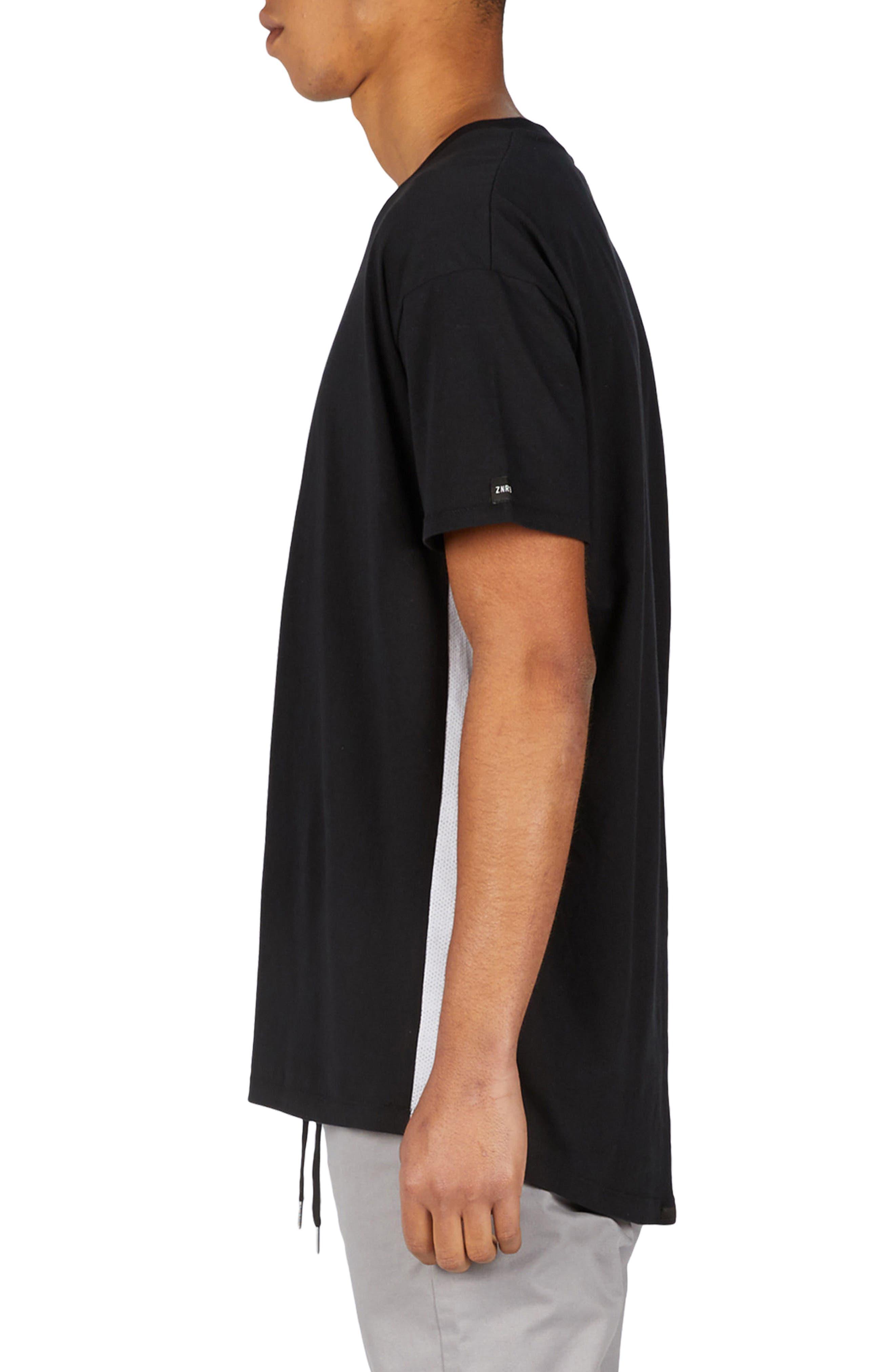 Sideline Rugger T-Shirt,                             Alternate thumbnail 4, color,                             Black