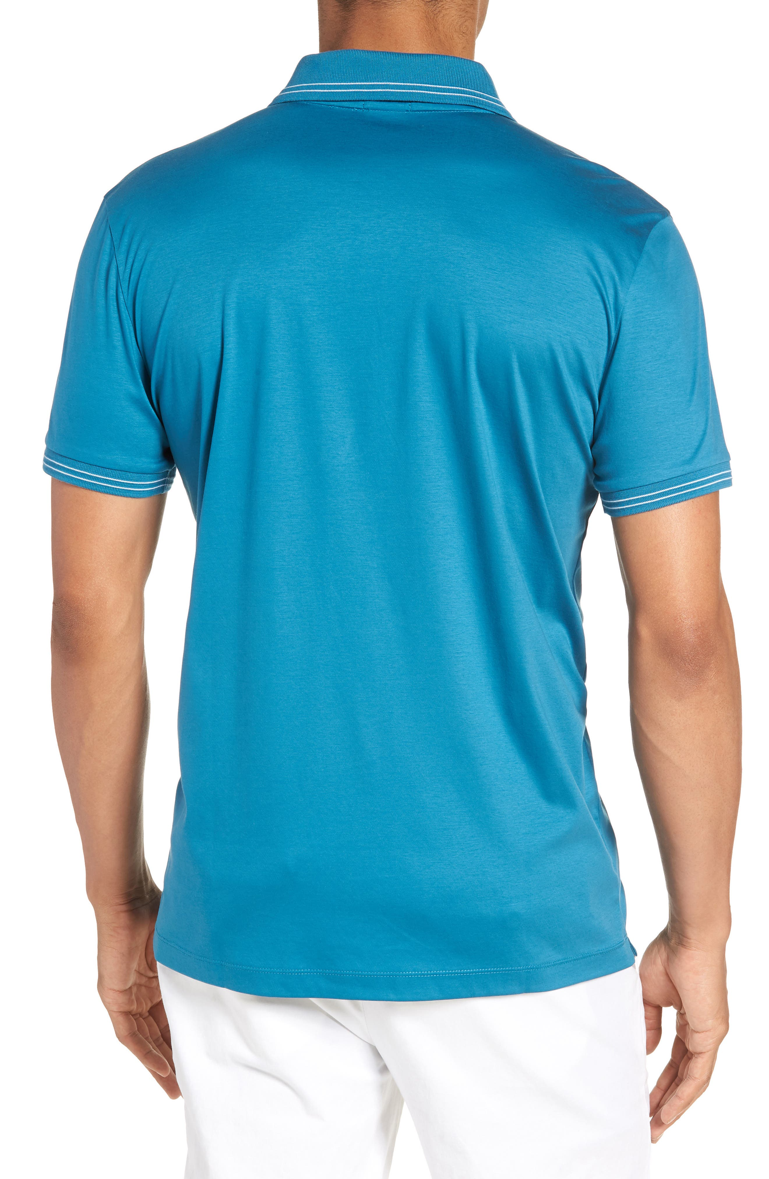 Parlay Johnny Polo Shirt,                             Alternate thumbnail 2, color,                             Blue