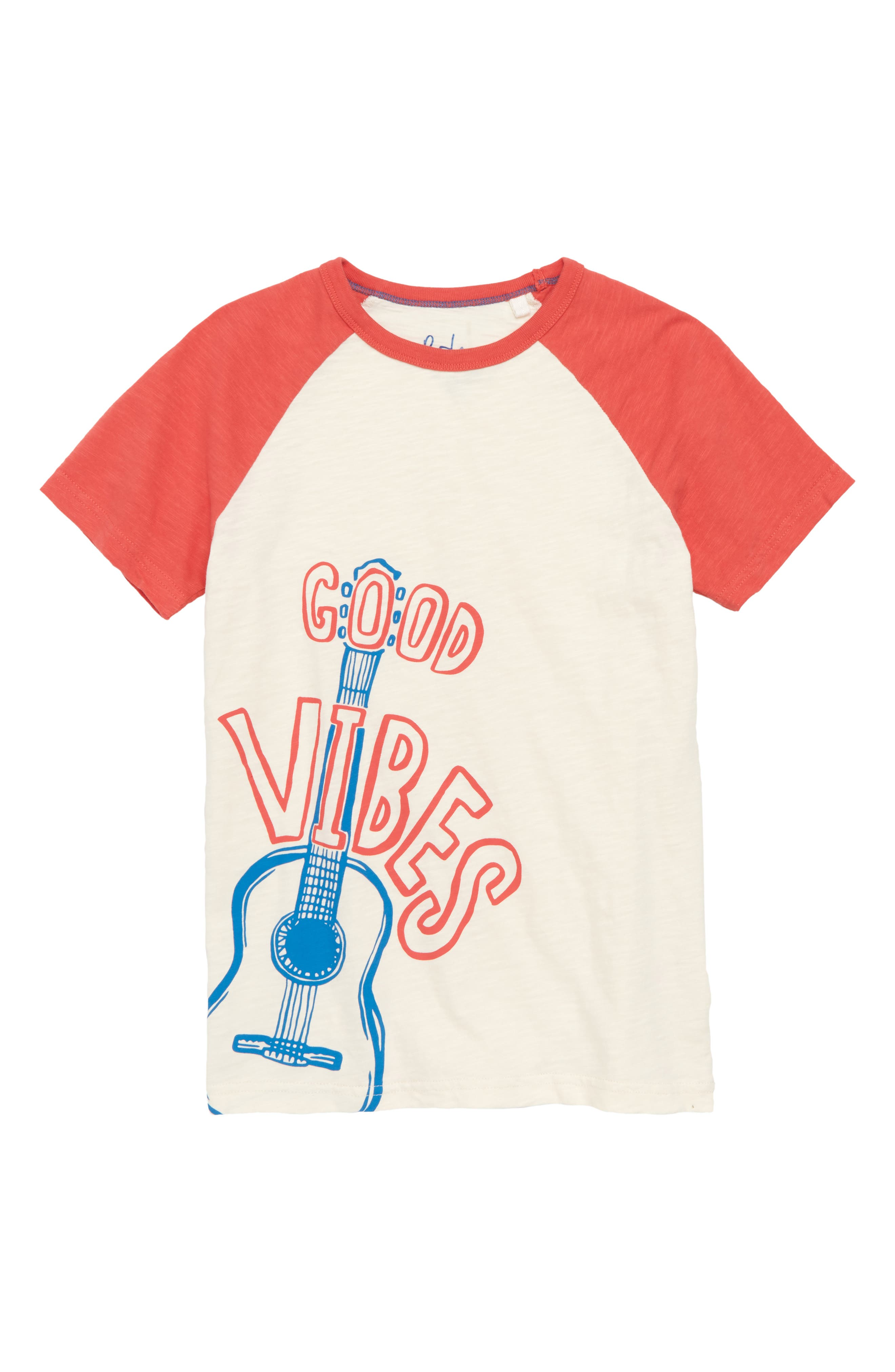 Mini Boden Good Vibes Graphic T-Shirt (Little Boys & Big Boys)