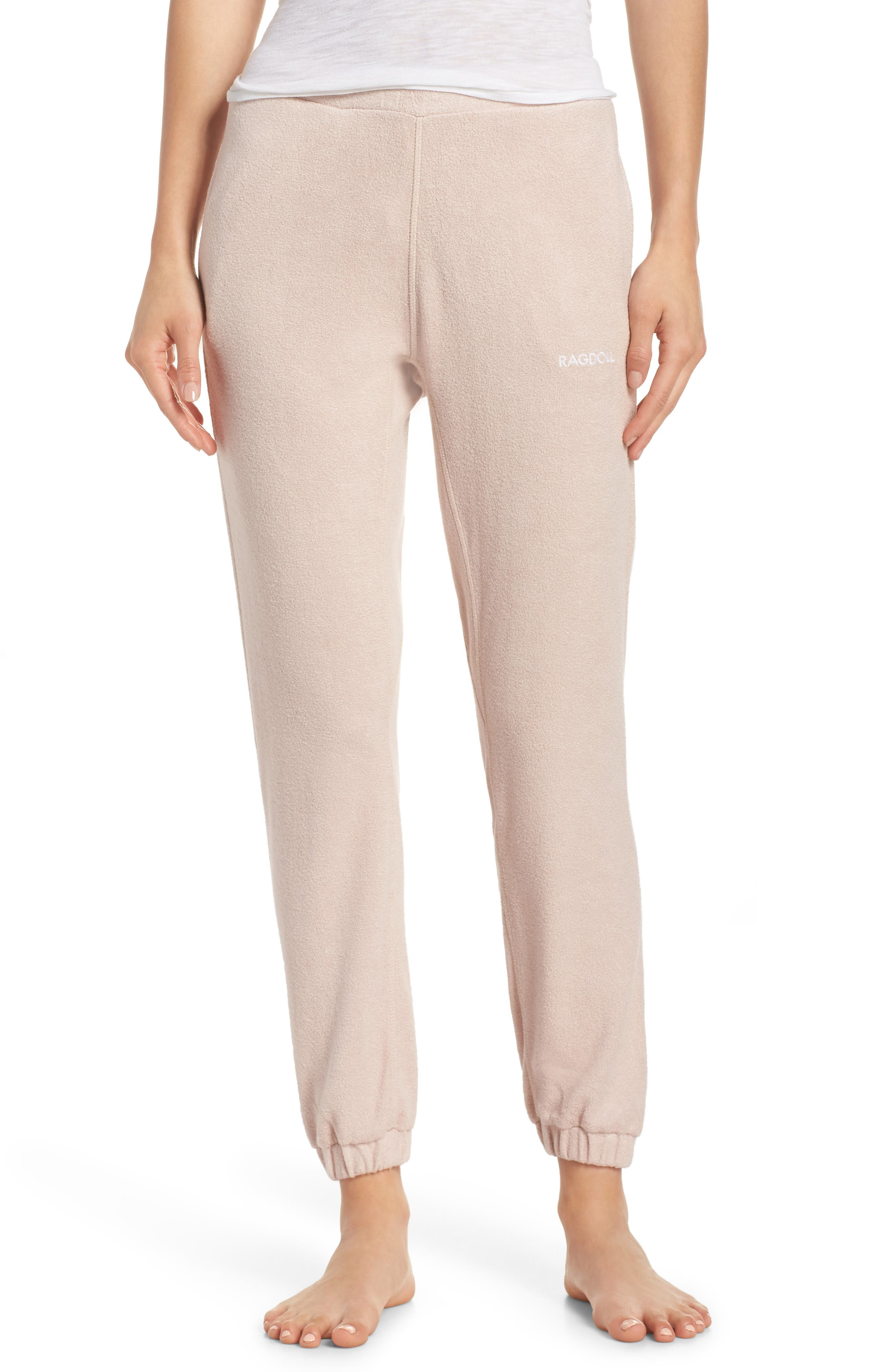 Lounge Pant,                         Main,                         color, Dusty Pink