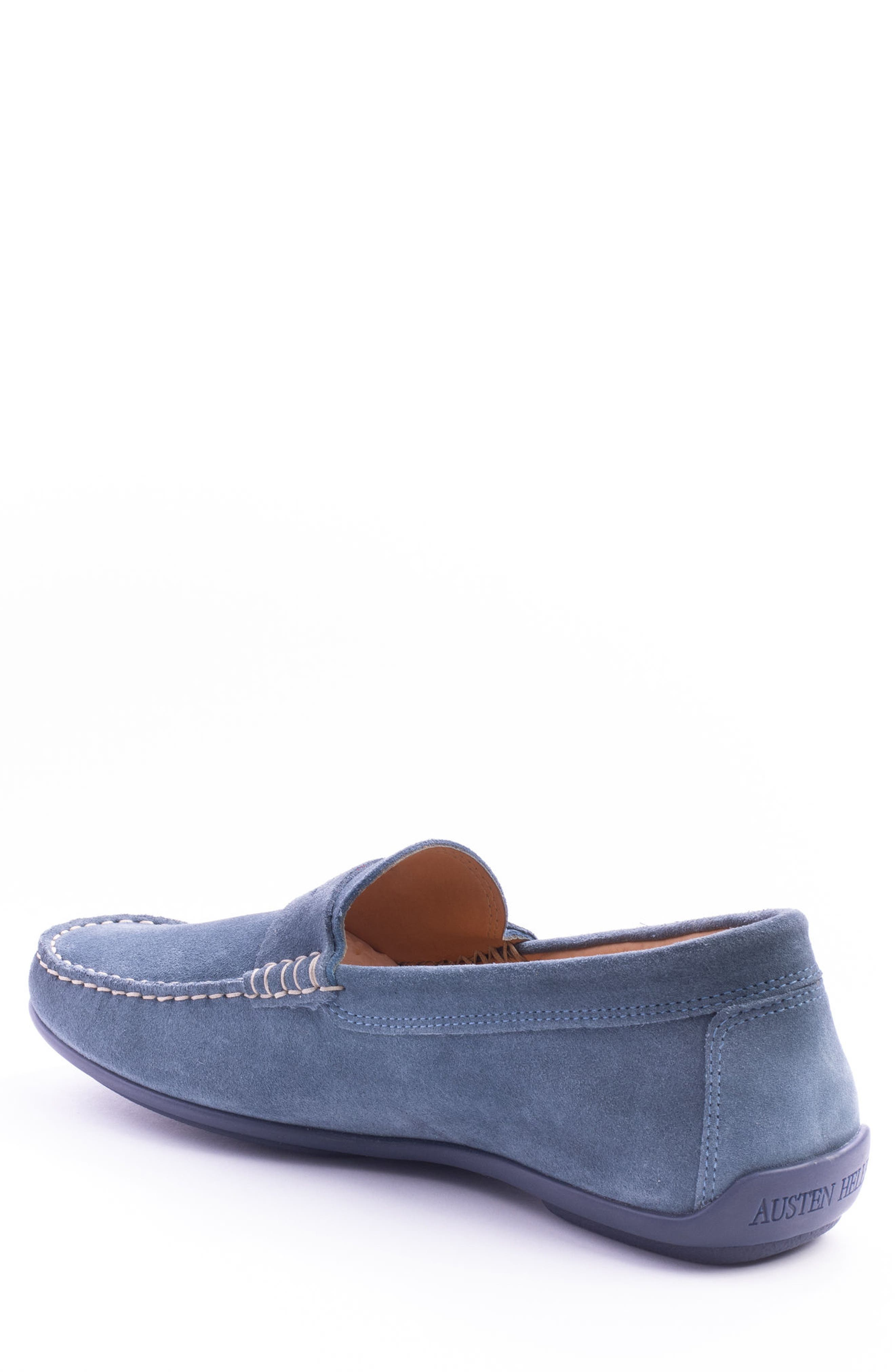 'Parkers' Penny Loafer,                             Alternate thumbnail 2, color,                             Indigo