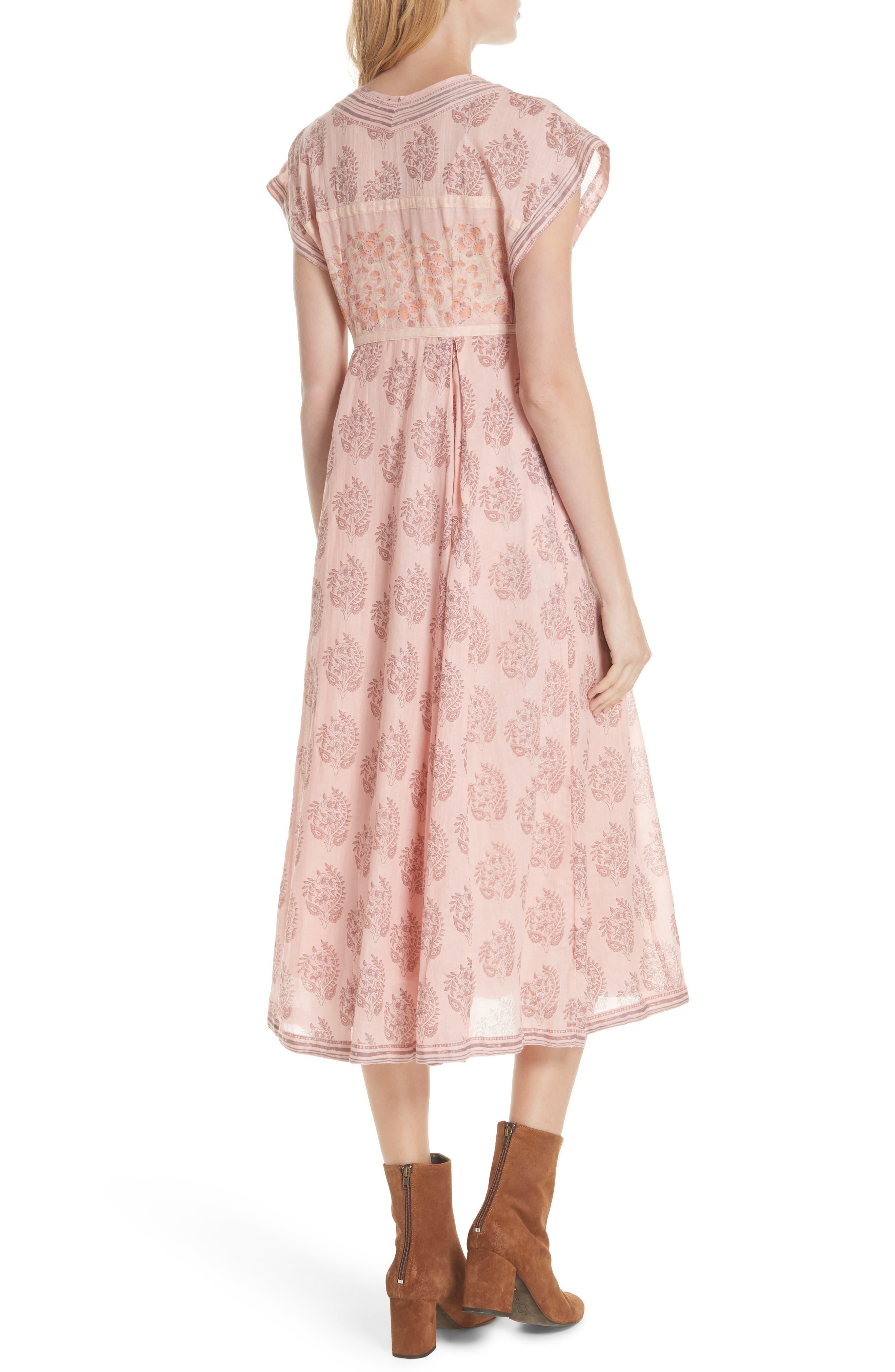 Riakaa Dress,                             Alternate thumbnail 2, color,                             Pink