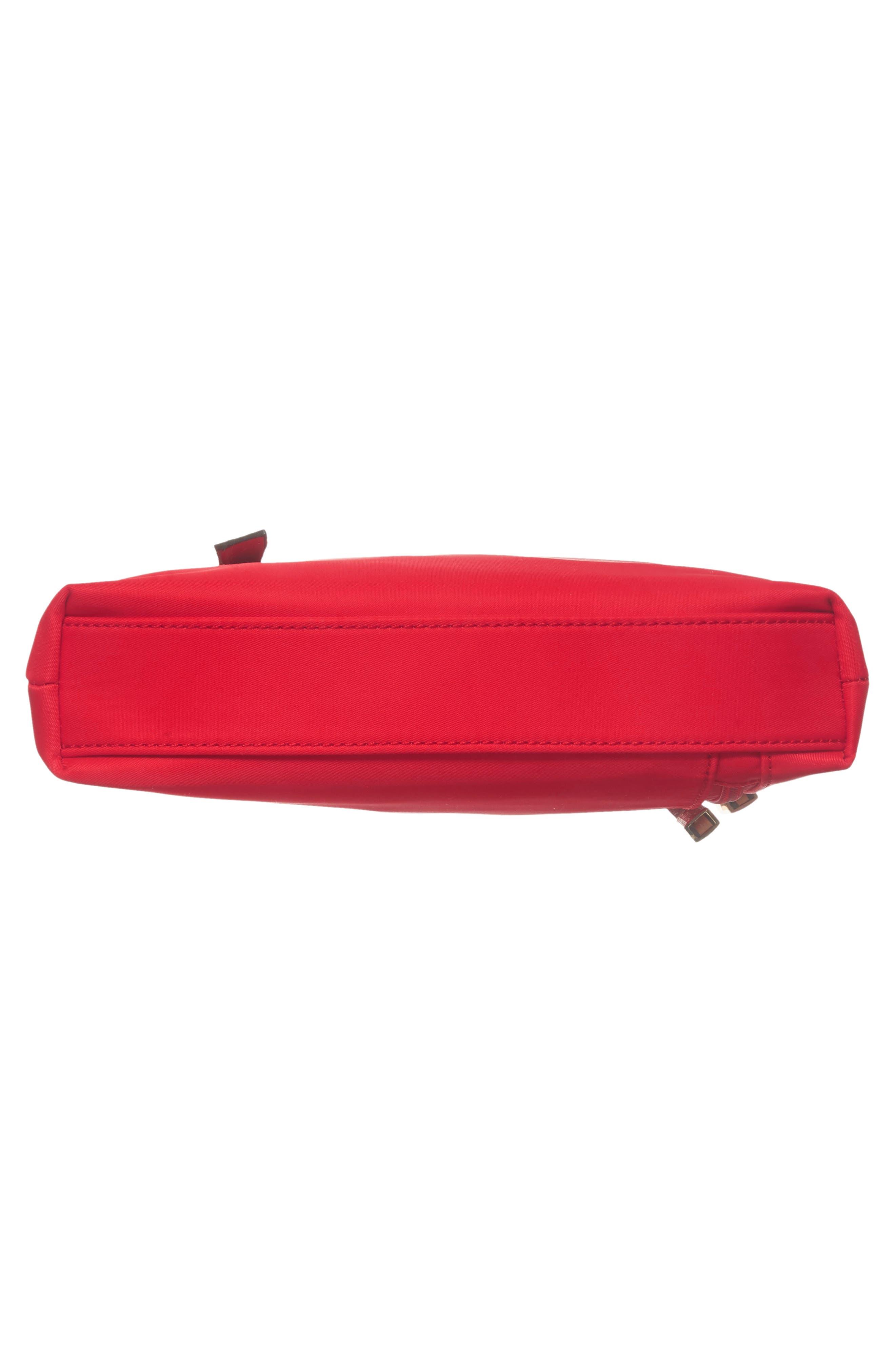 Guitar Strap Crossbody Bag,                             Alternate thumbnail 6, color,                             Red