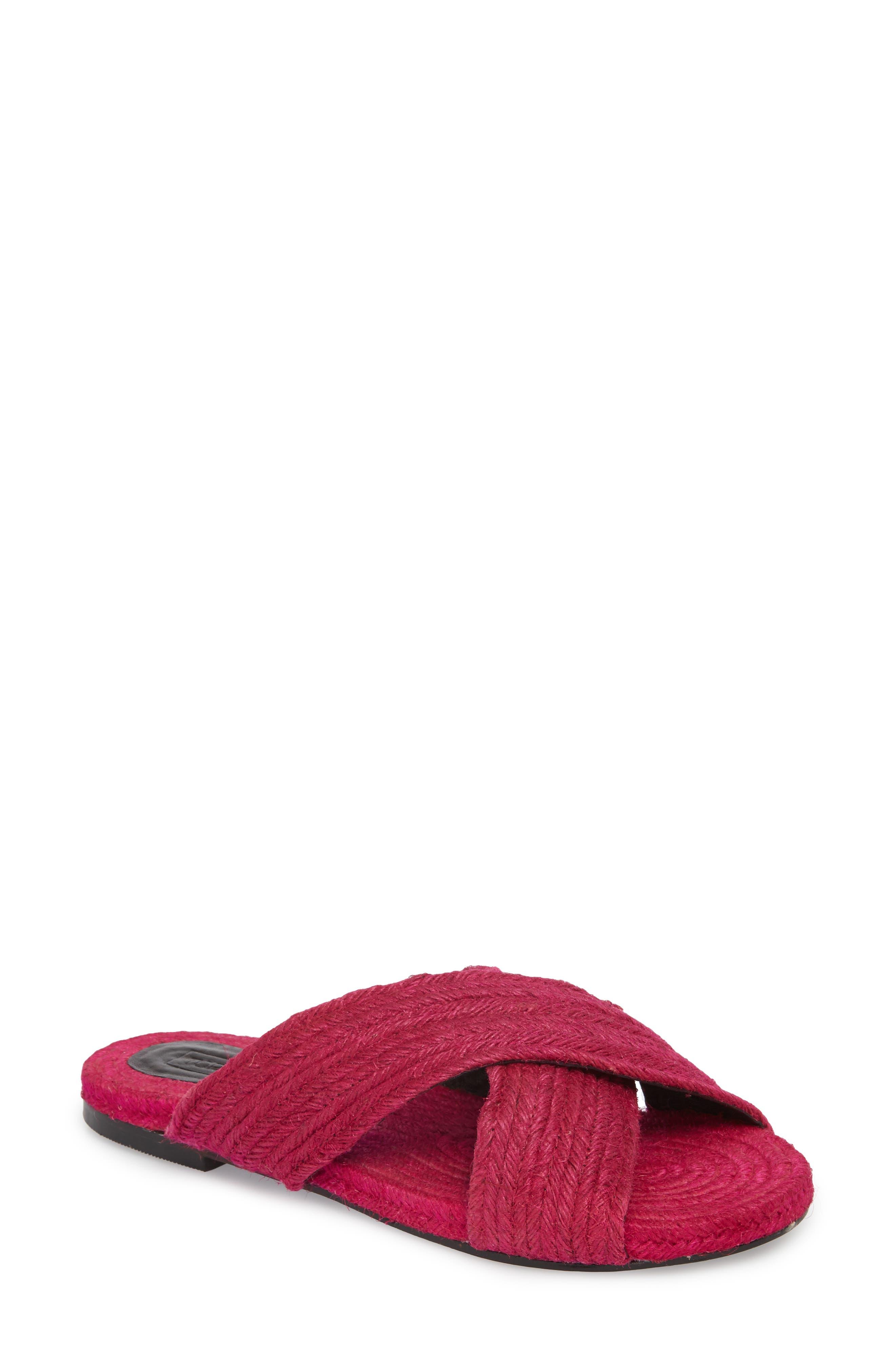 Topshop Felilx Rope Slide Sandal (Women)
