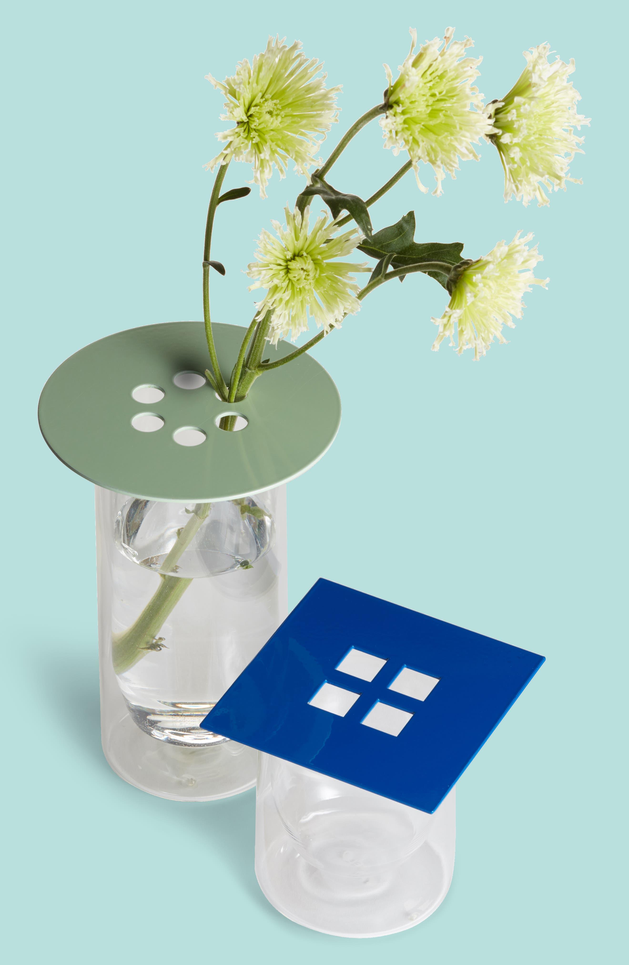 Set of 3 Anywhere Vase Converters,                             Main thumbnail 1, color,                             Tan/Mint/Cobal