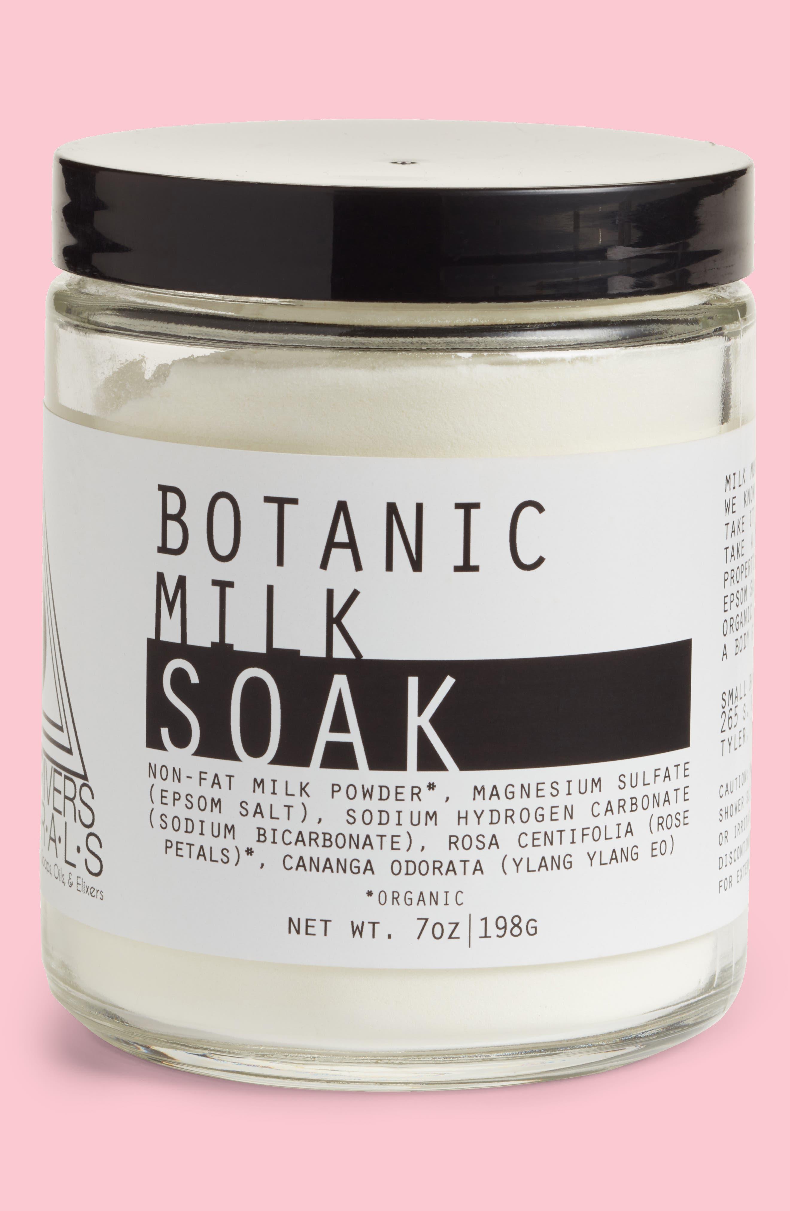 Botanic Milk Soak,                             Main thumbnail 1, color,                             Botanic Milk