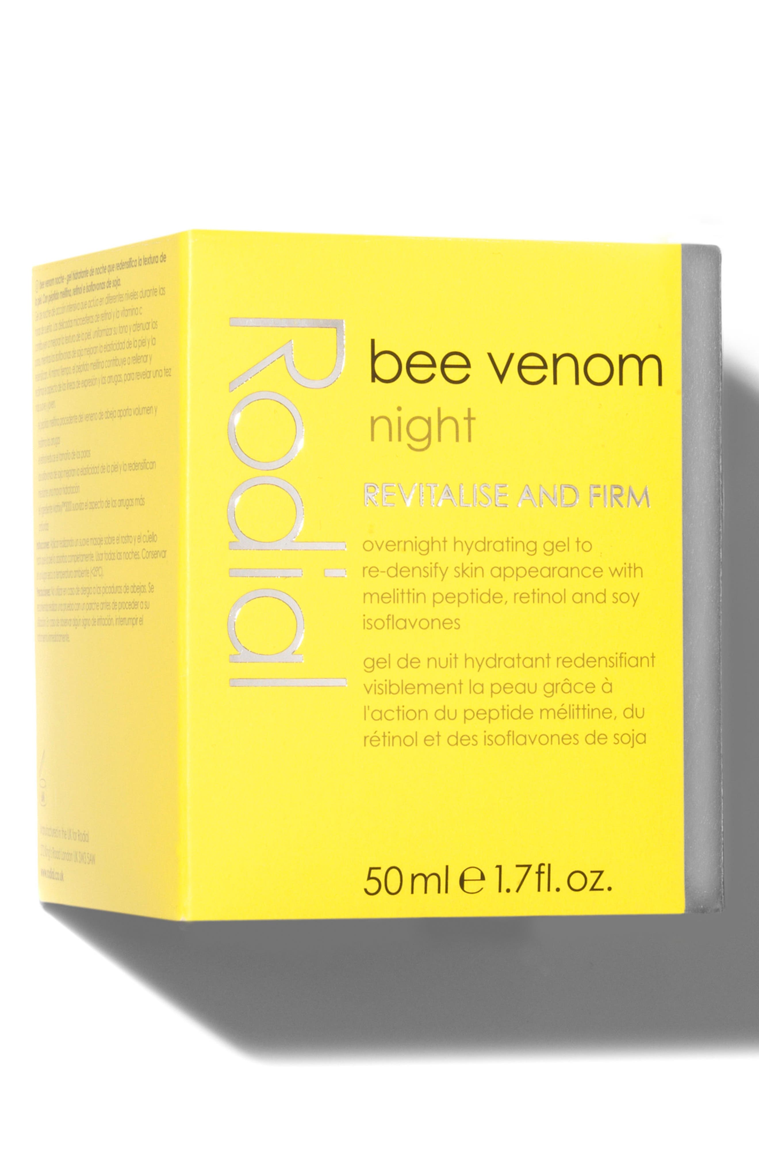 SPACE.NK.apothecary Rodial Bee Venom Night Gel,                             Alternate thumbnail 4, color,                             No Color