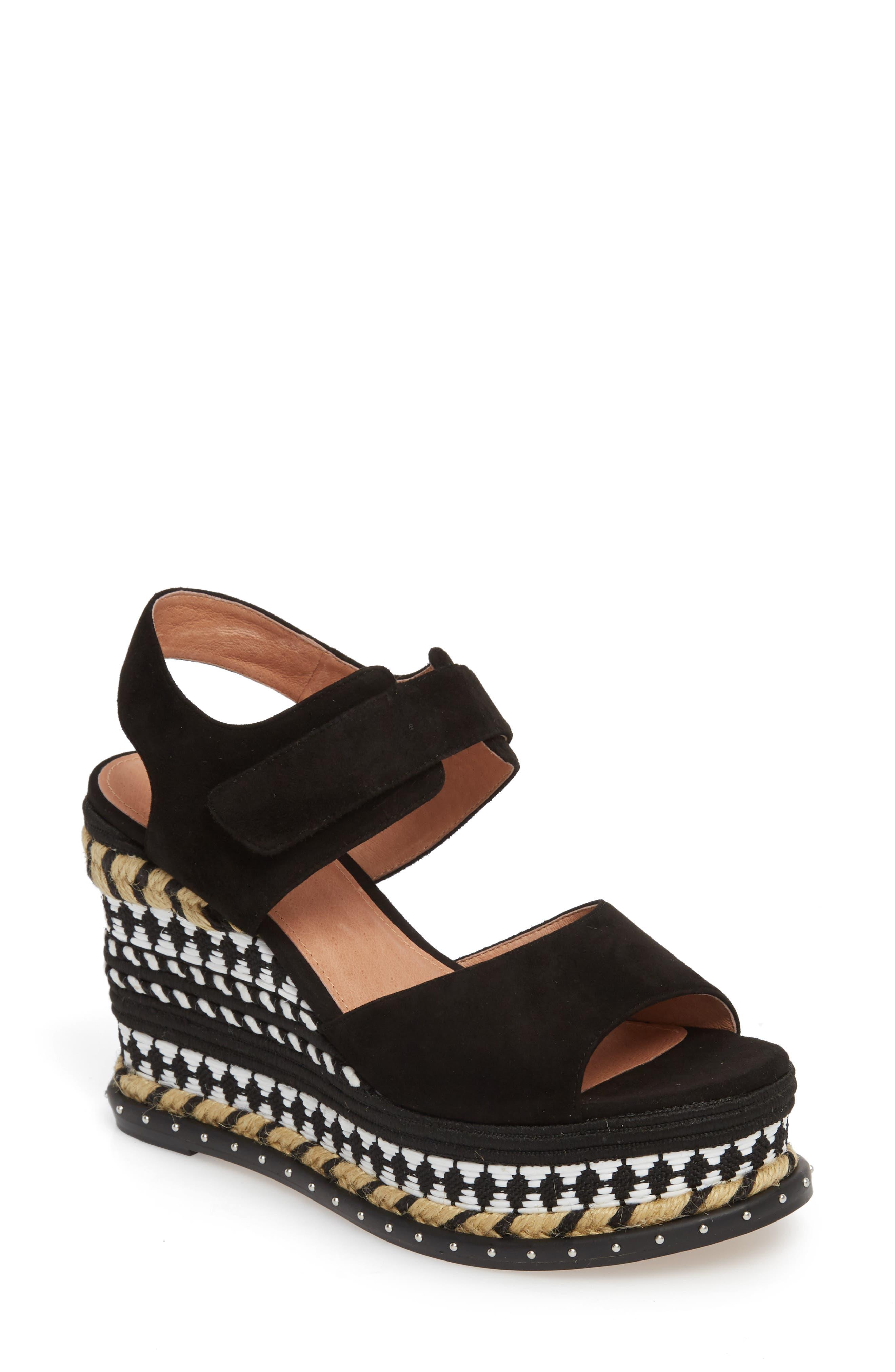 Caslon® Braxton Platform Wedge Sandal (Women)