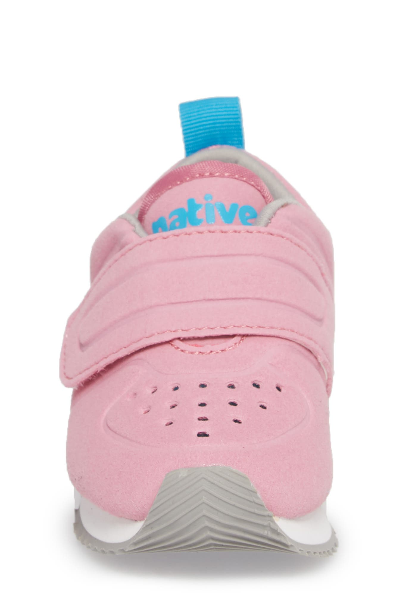 Native Cornell Perforated Sneaker,                             Alternate thumbnail 4, color,                             Malibu Pink/ White/ Blue