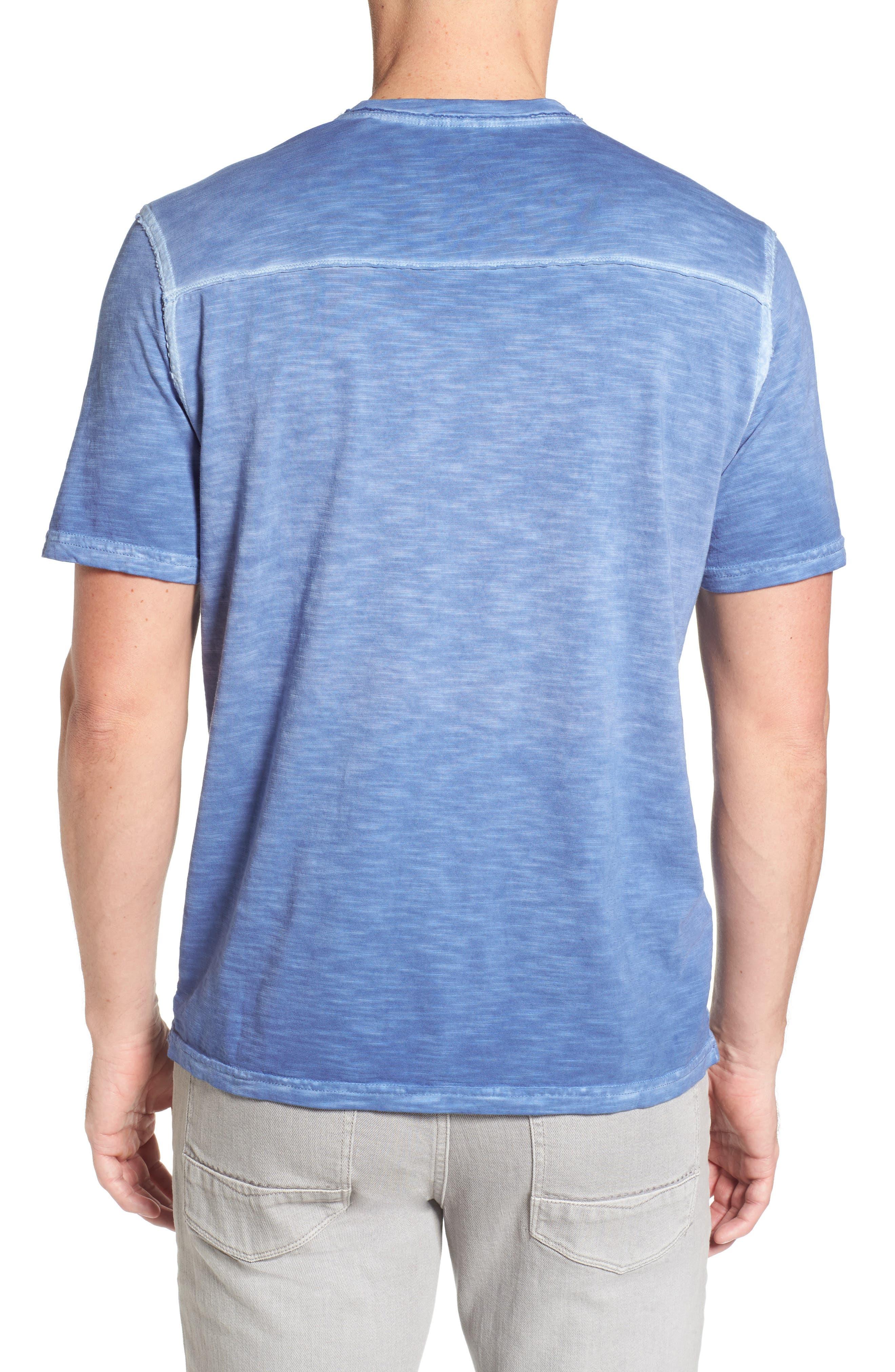 Suncoast Shores V-Neck T-Shirt,                             Alternate thumbnail 2, color,                             Dockside Blue