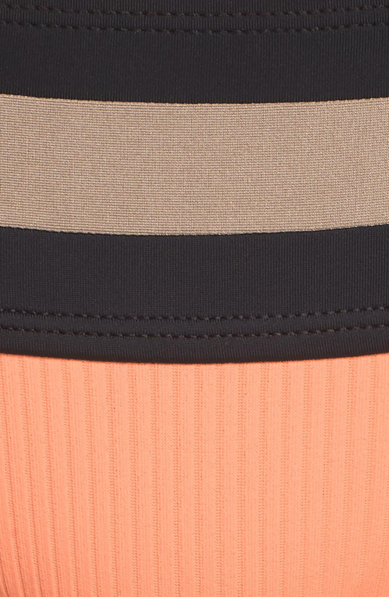 Banded Bikini Bottoms,                             Alternate thumbnail 8, color,                             Sandstone