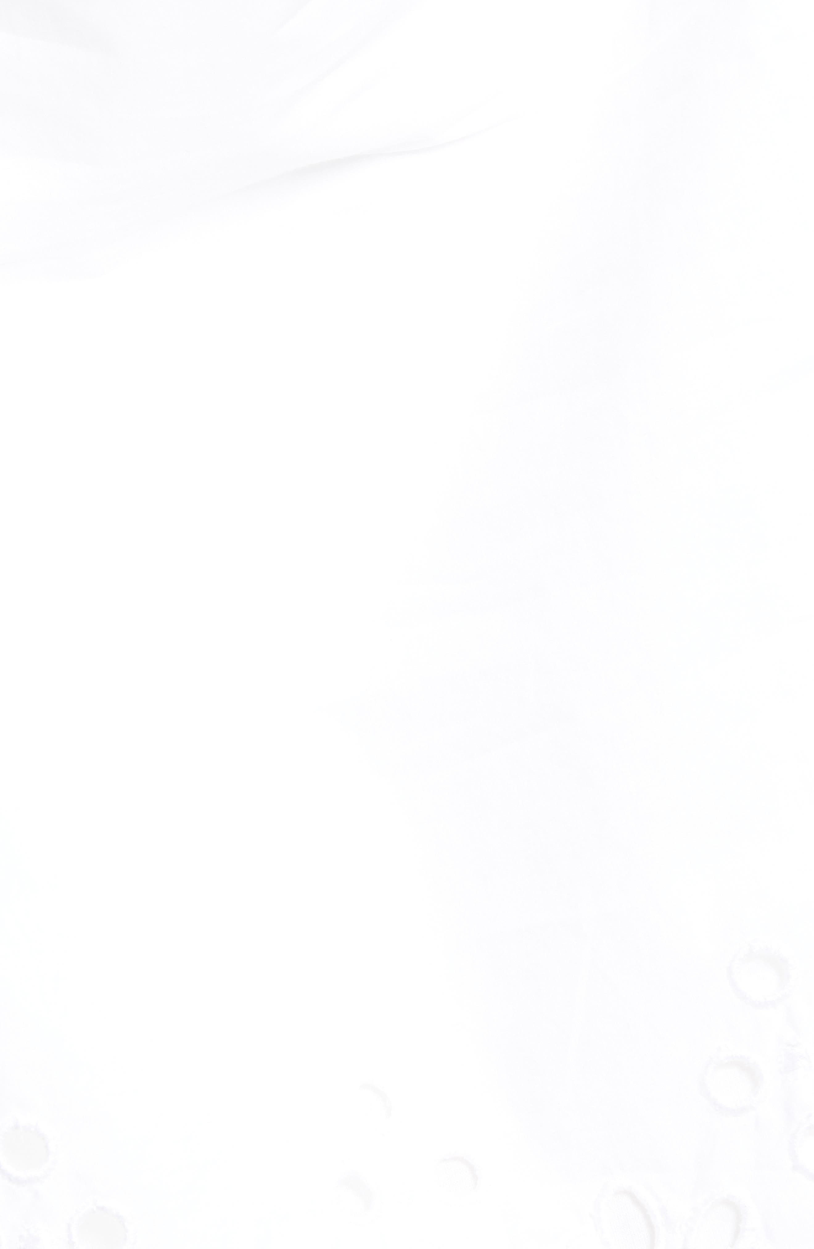 Eyelet Top,                             Alternate thumbnail 5, color,                             White Cap