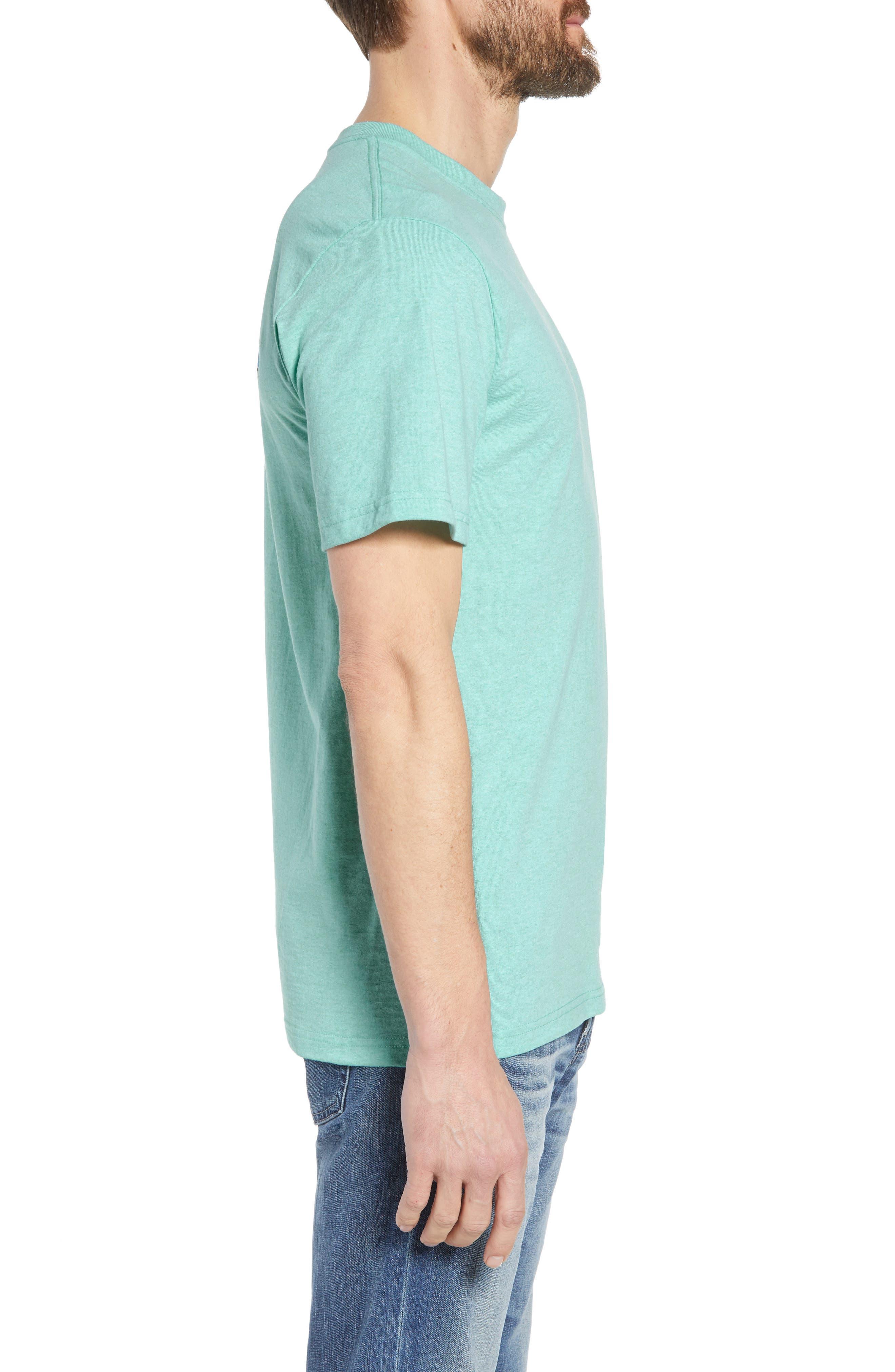 Fitz Roy Trout Crewneck T-Shirt,                             Alternate thumbnail 10, color,                             Bend Blue