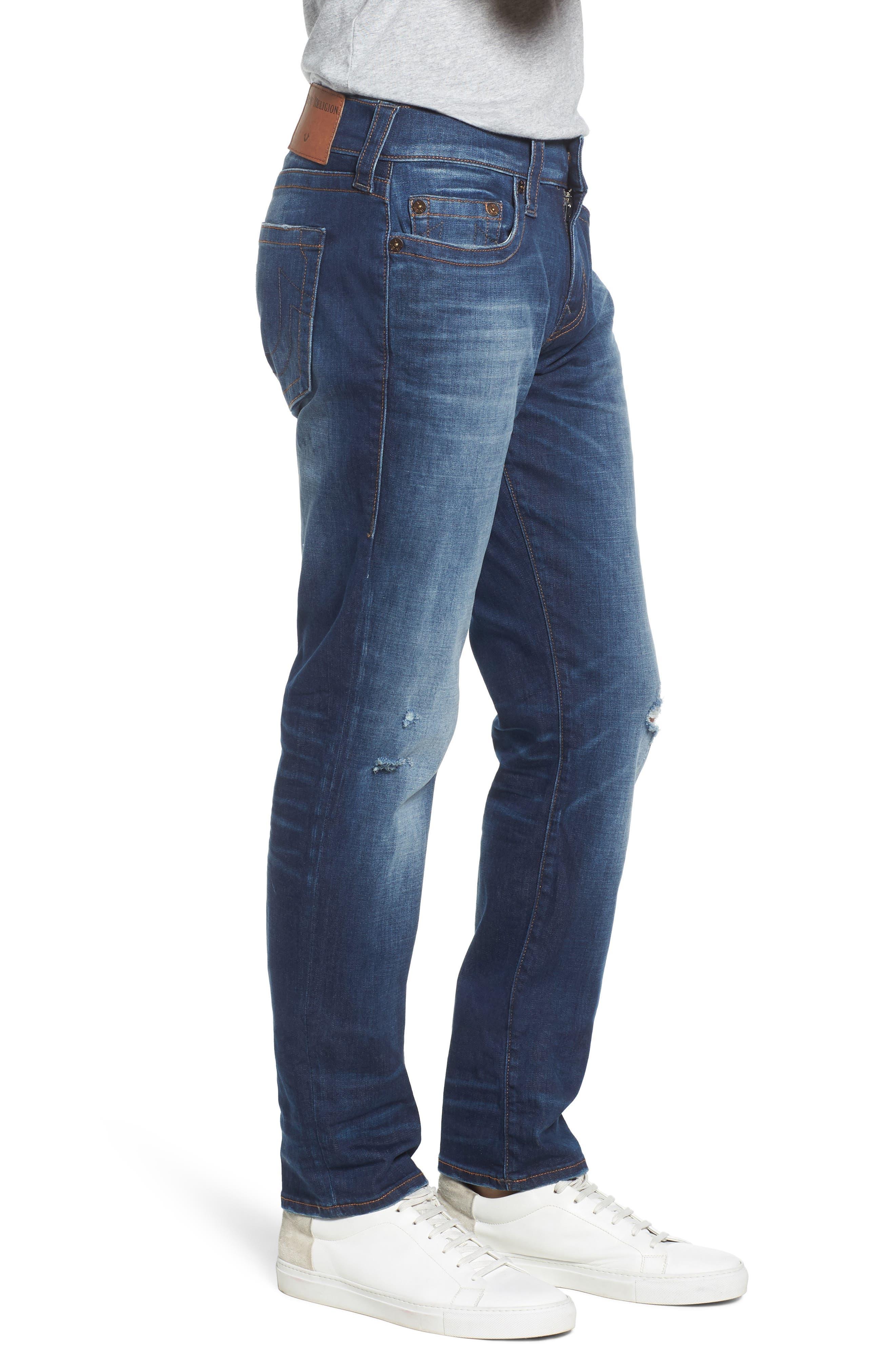 Geno Straight Leg Jeans,                             Alternate thumbnail 3, color,                             Suspect