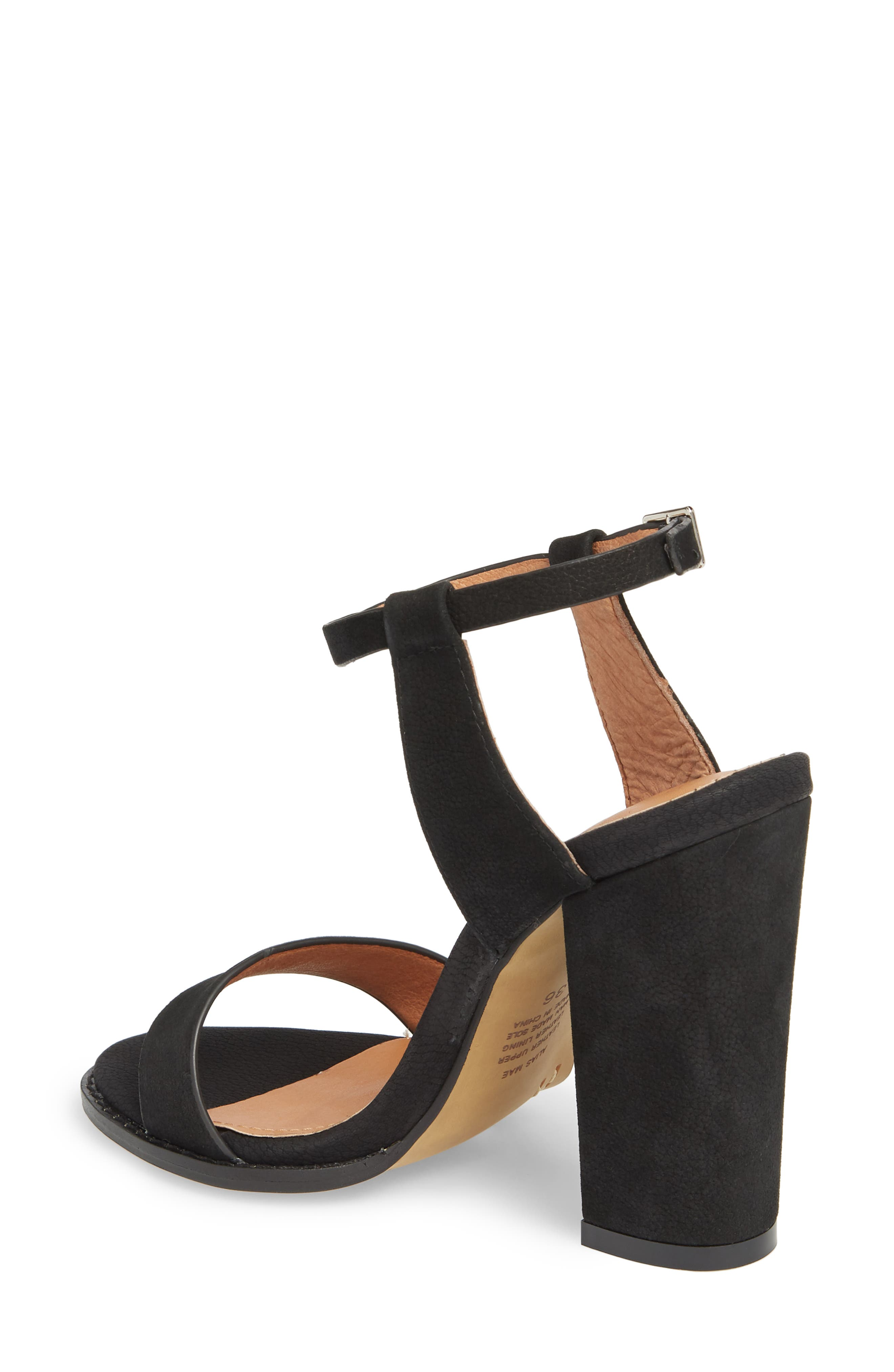 Jynk Sandal,                             Alternate thumbnail 2, color,                             Black Leather
