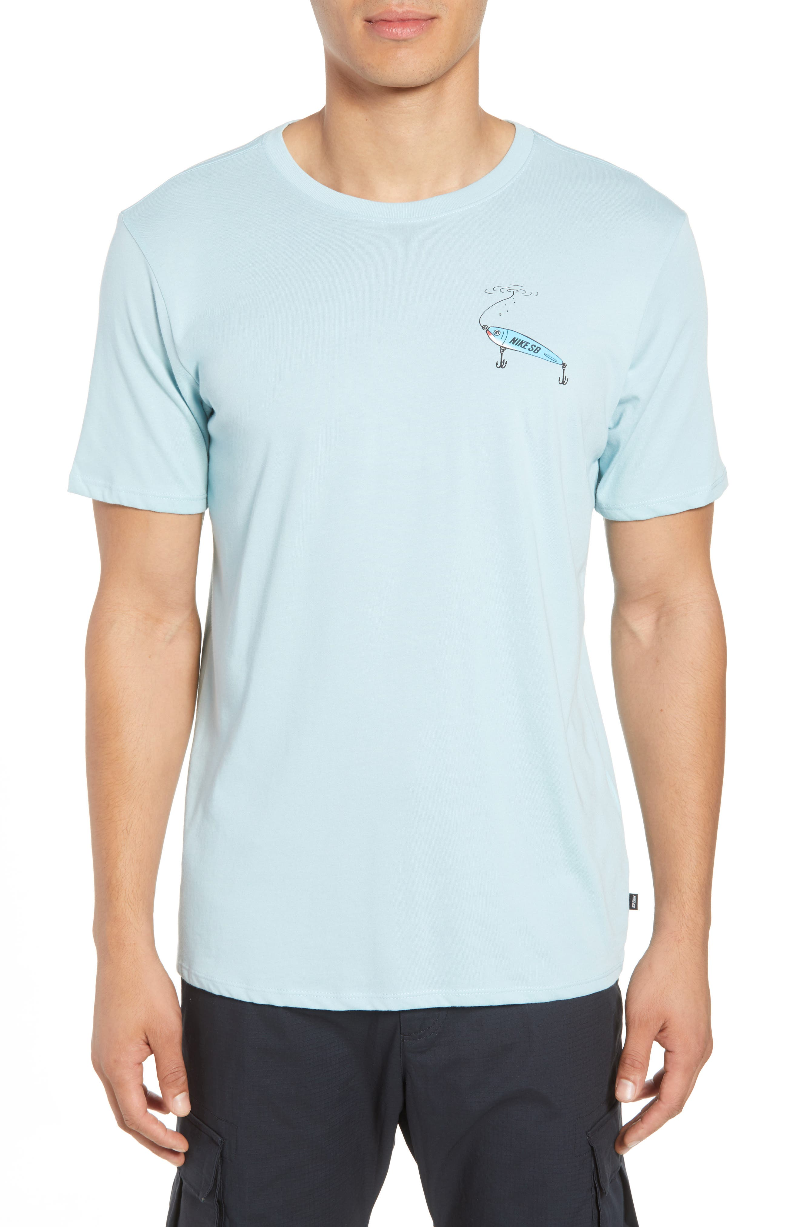 Dry Walrus T-Shirt,                         Main,                         color, Ocean Bliss/ Black