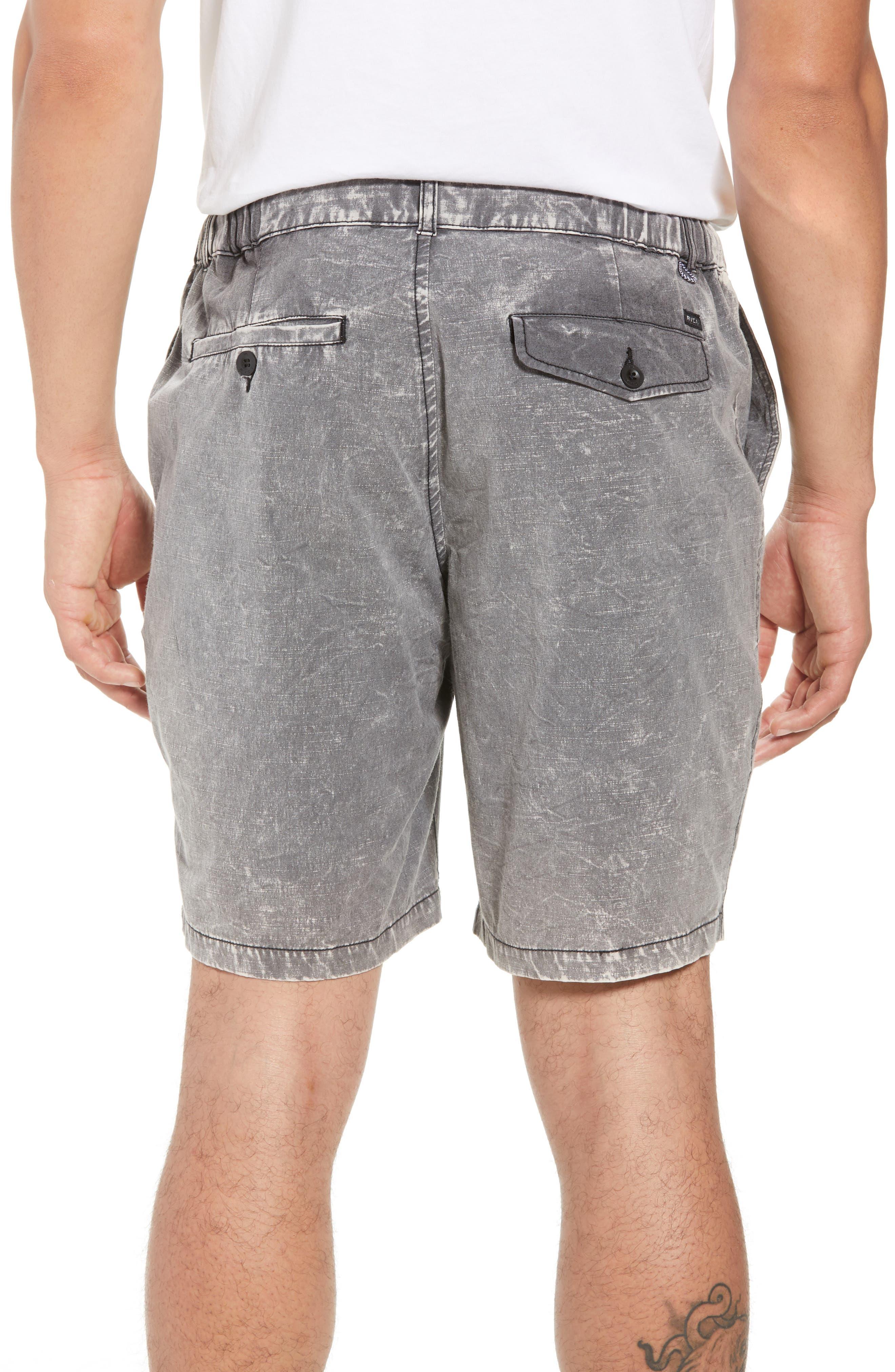 All Time Coastal Hybrid Shorts,                             Alternate thumbnail 2, color,                             Black