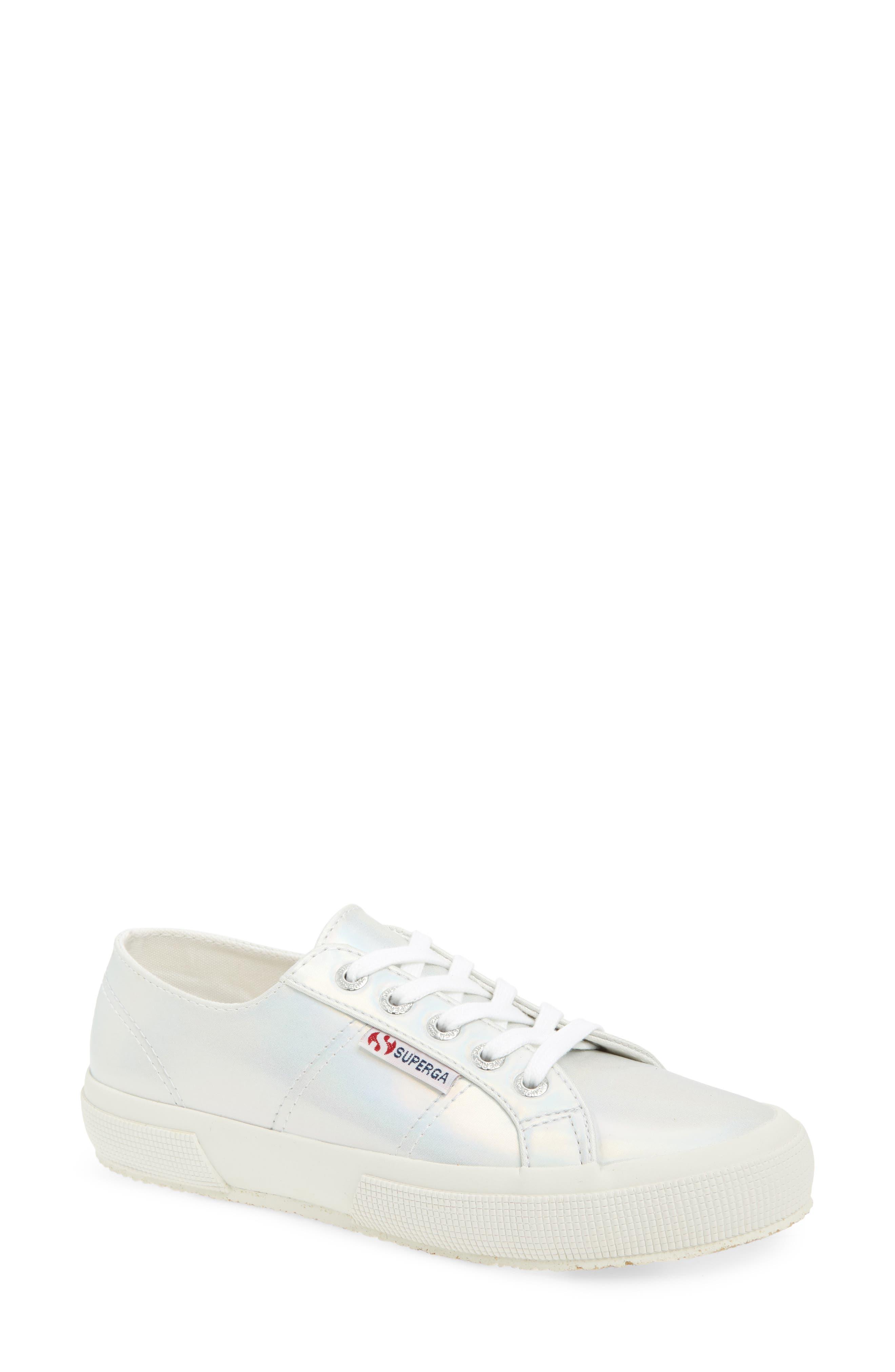 2750 Hologramw Low Top Sneaker,                             Main thumbnail 1, color,                             Iridescent