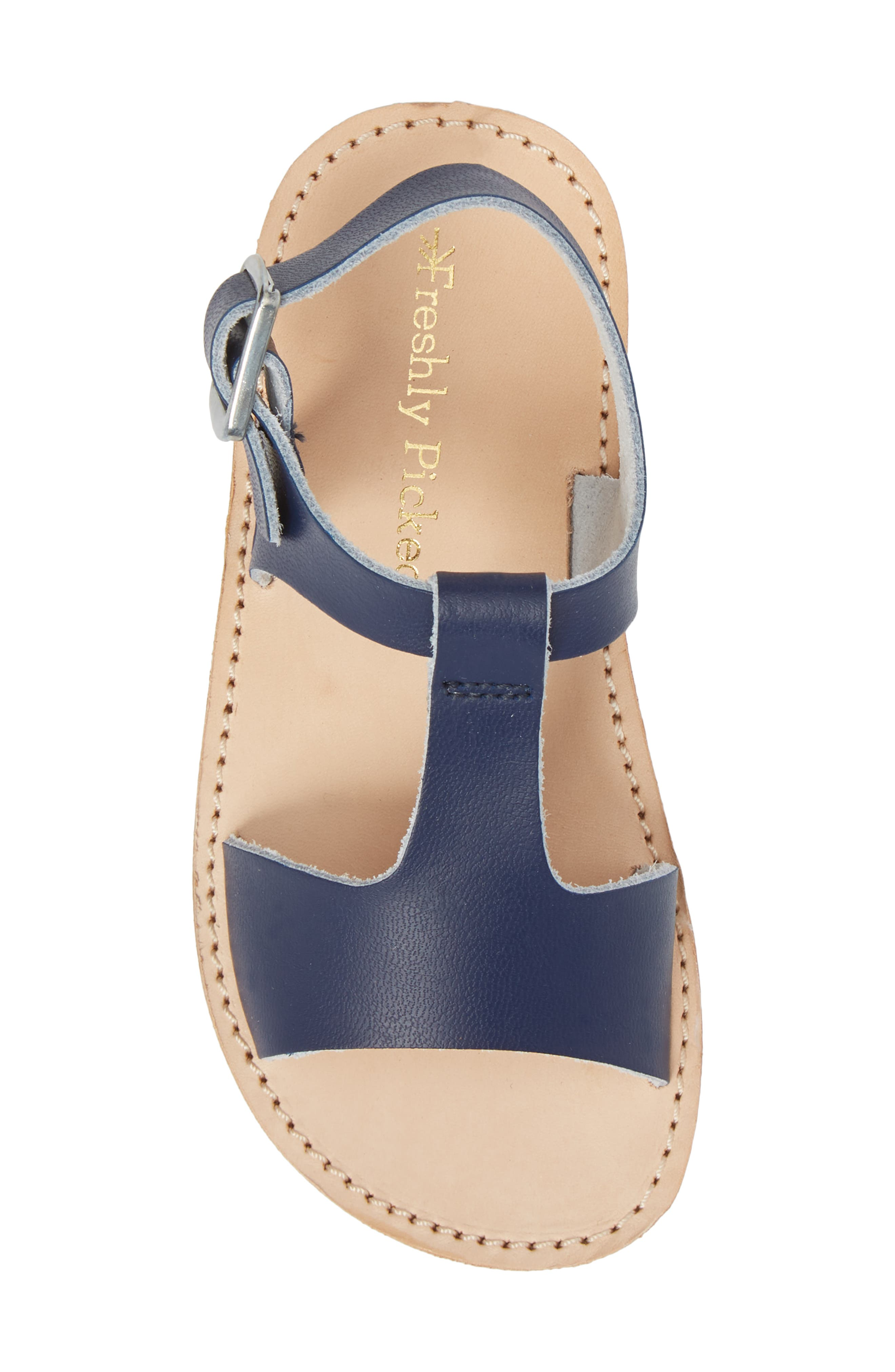 Malibu Water Resistant Sandal,                             Alternate thumbnail 5, color,                             Navy