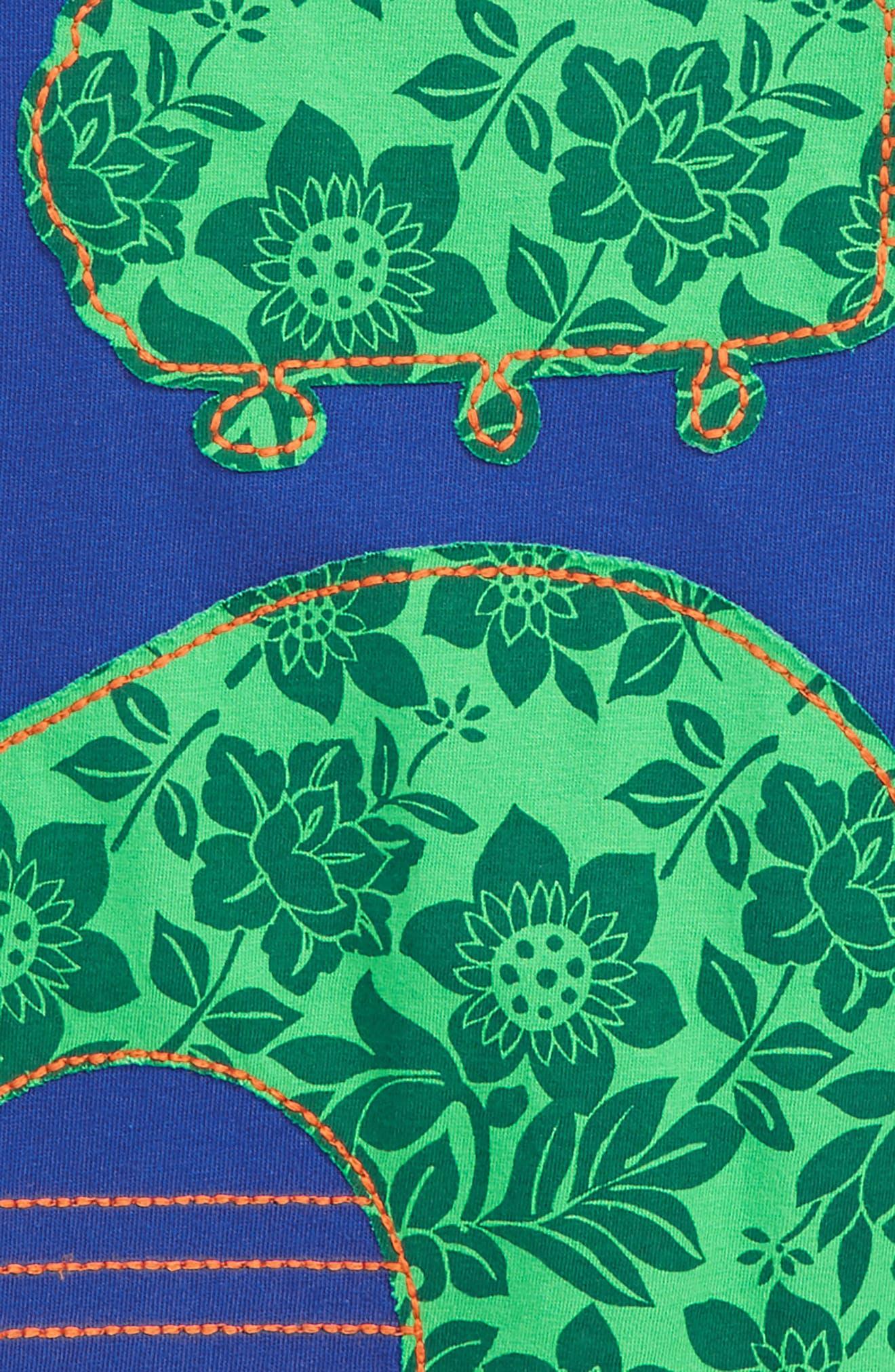 Guitar Appliqué T-Shirt,                             Alternate thumbnail 2, color,                             Orion Blue Guitar