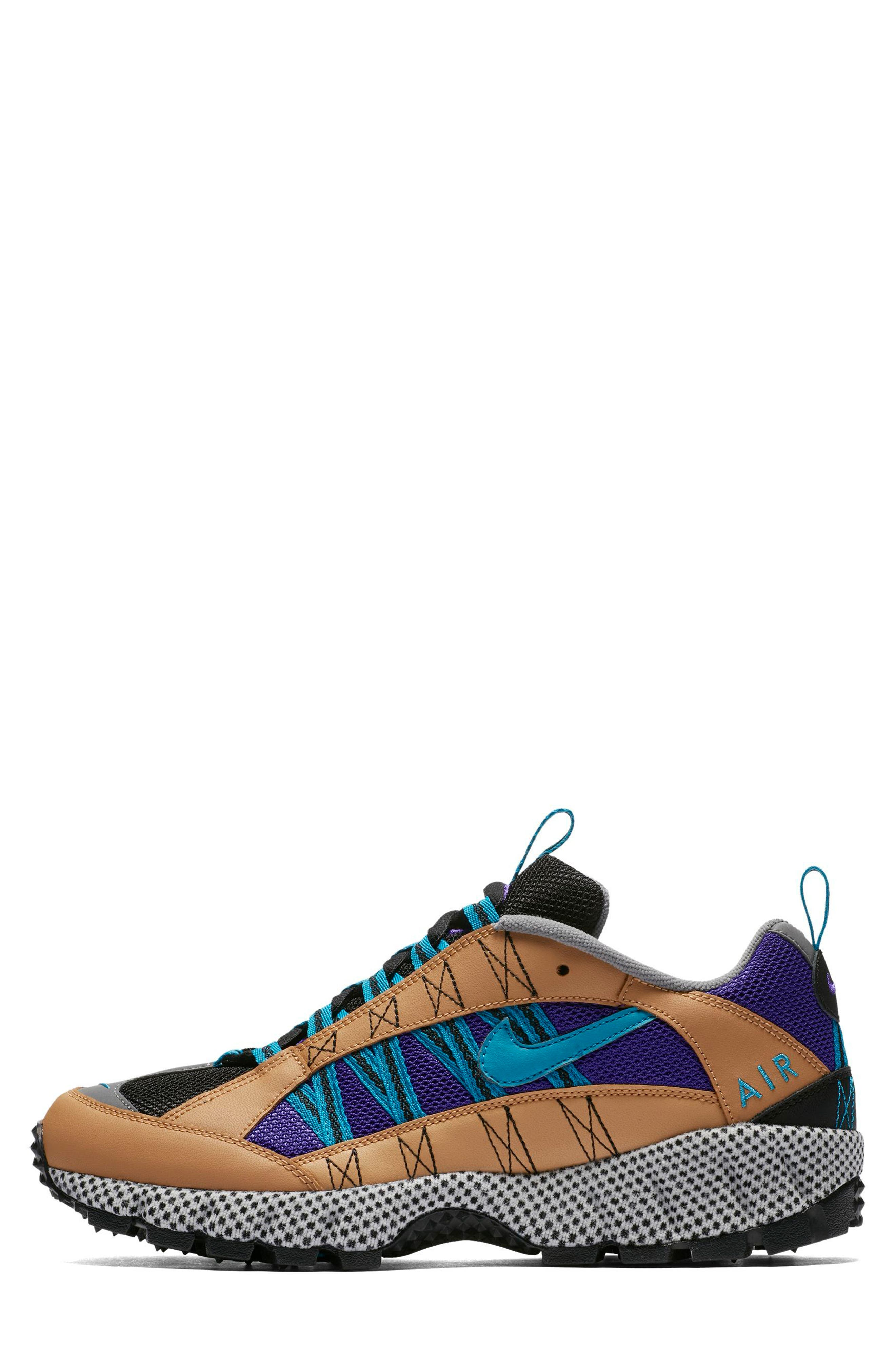 Air Humara 17 QS Sneaker,                             Alternate thumbnail 2, color,                             Gold/ Turquoise-Purple