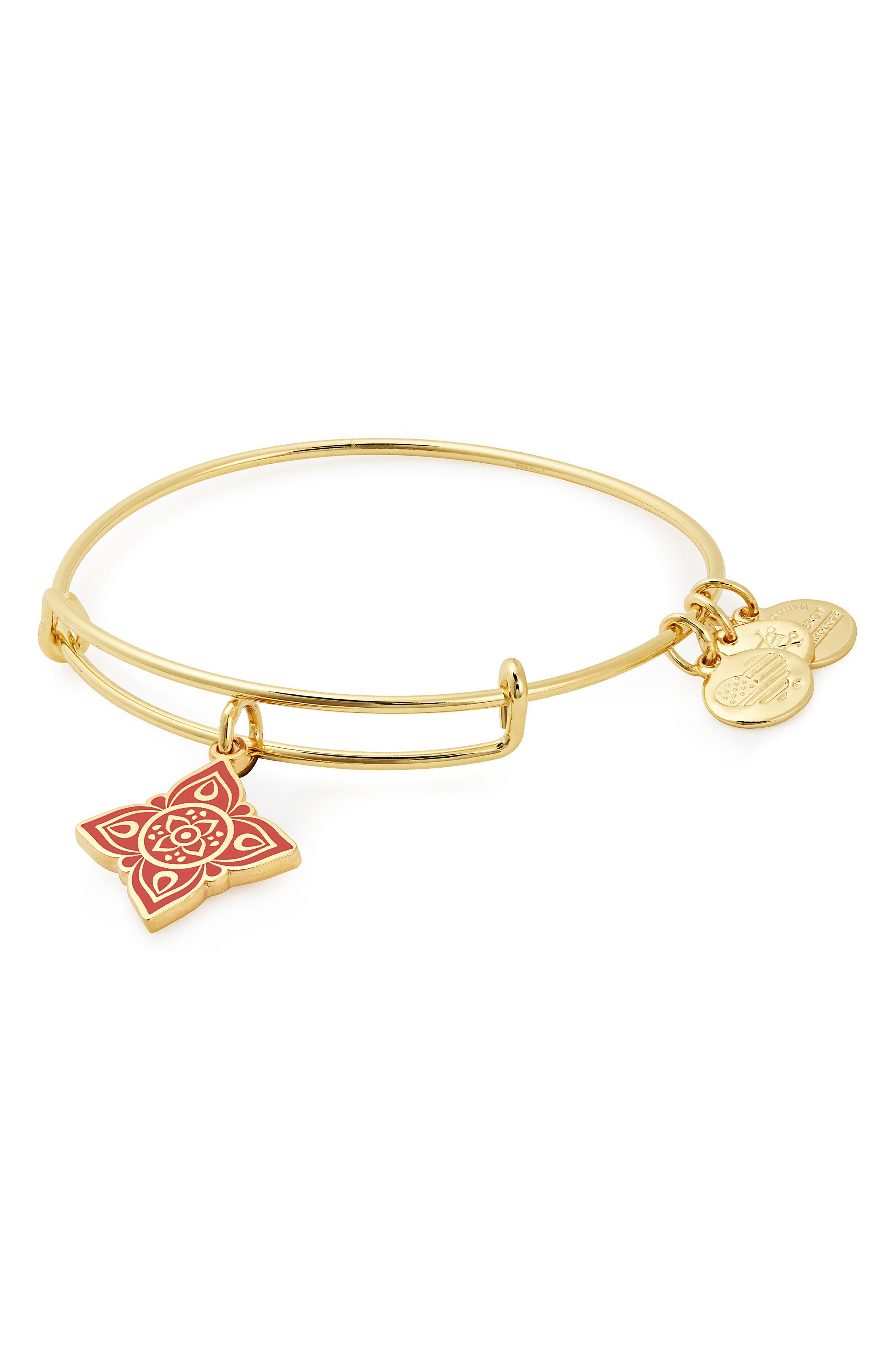 The Root Chakra Adjustable Bracelet,                             Main thumbnail 1, color,                             Gold