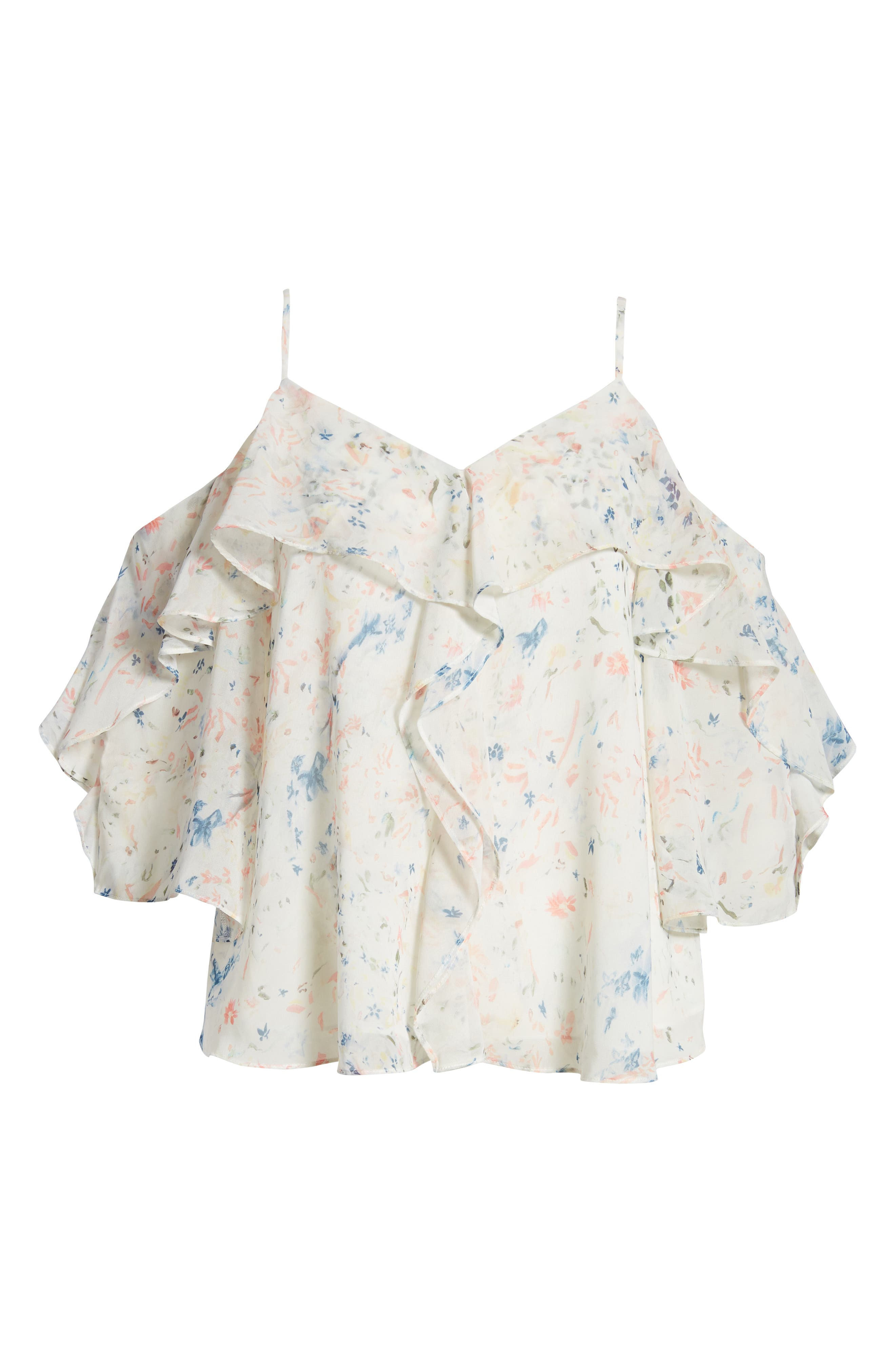 Jasmine Juni Top,                             Alternate thumbnail 6, color,                             Chalk White