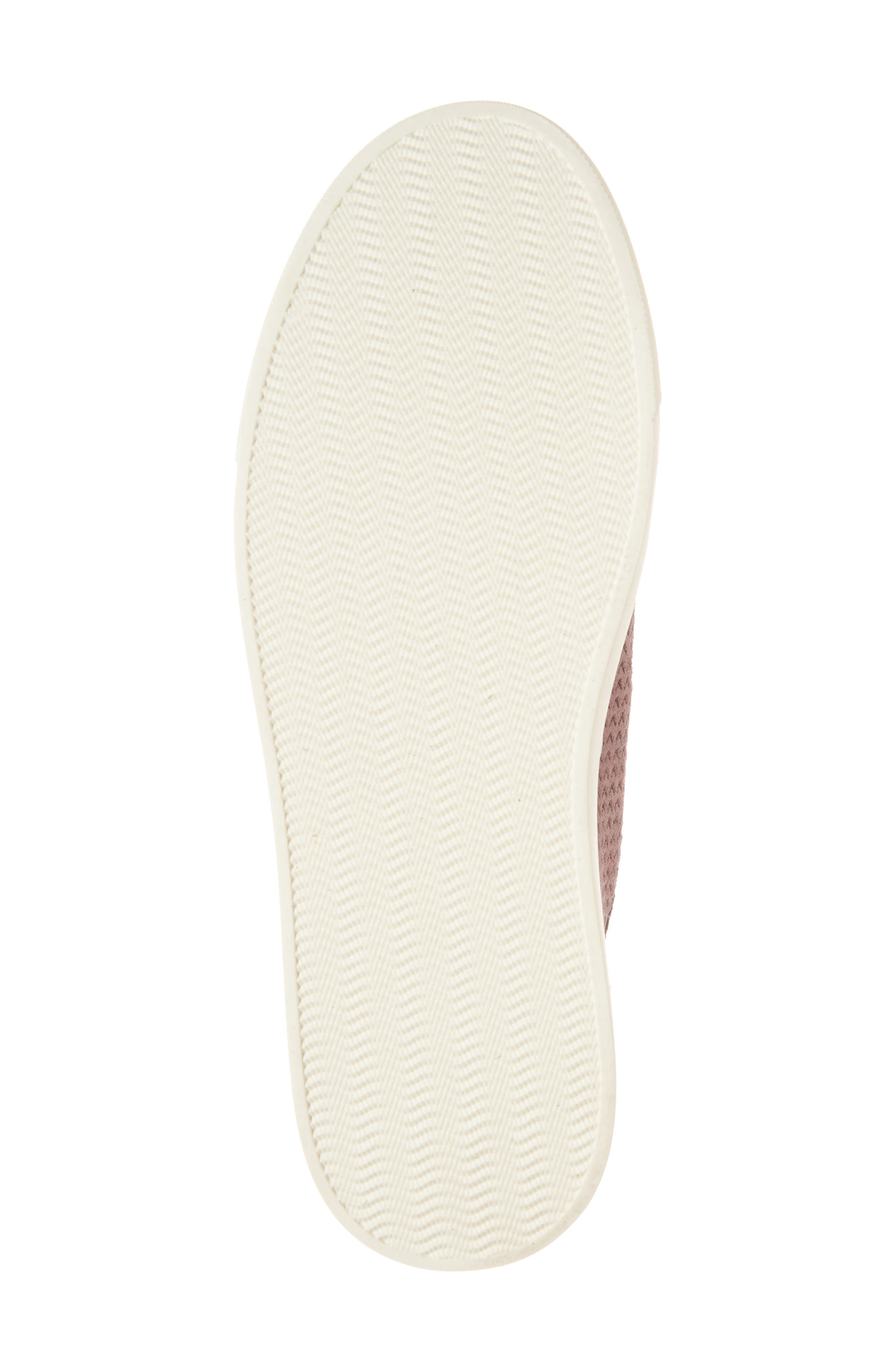Lawove Sneaker,                             Alternate thumbnail 6, color,                             Berry Smooth Suede