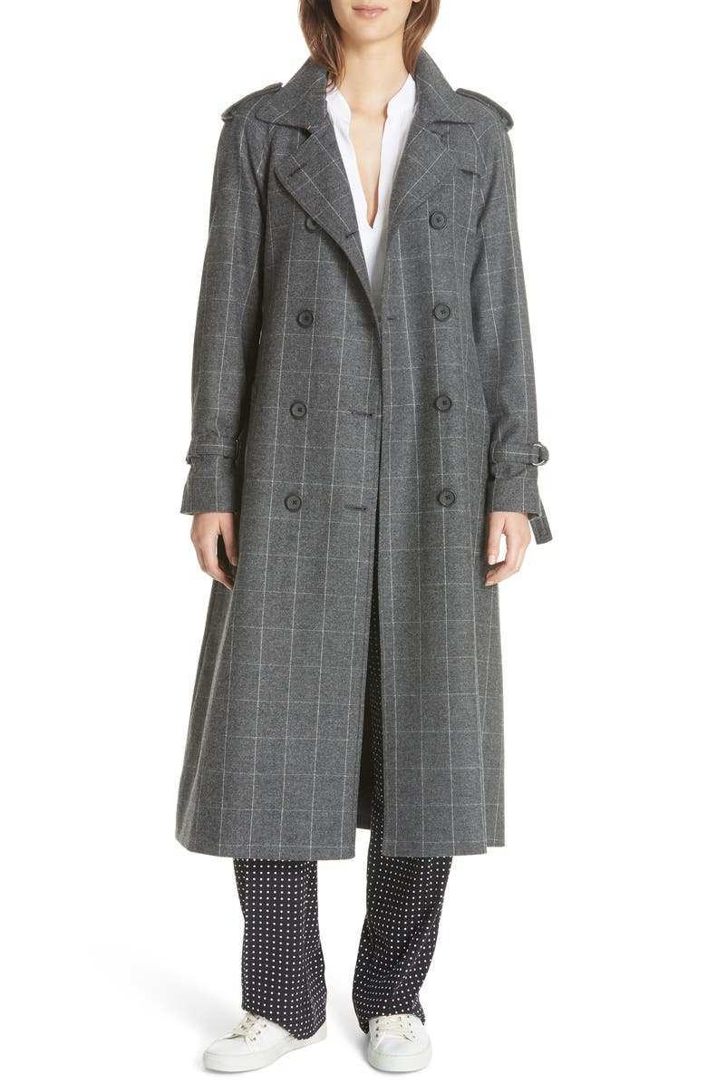 Everton Wool Blend Trench Coat