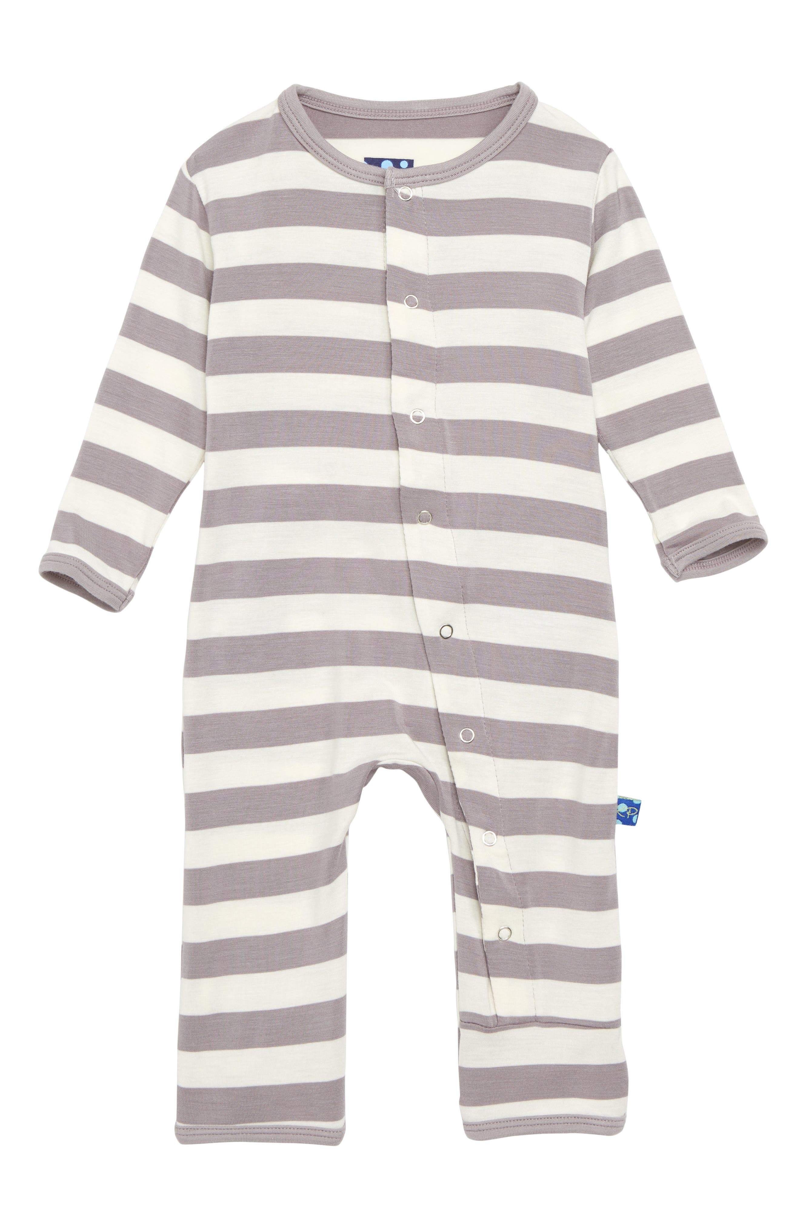 Kickee Pants Stripe One-Piece (Baby)