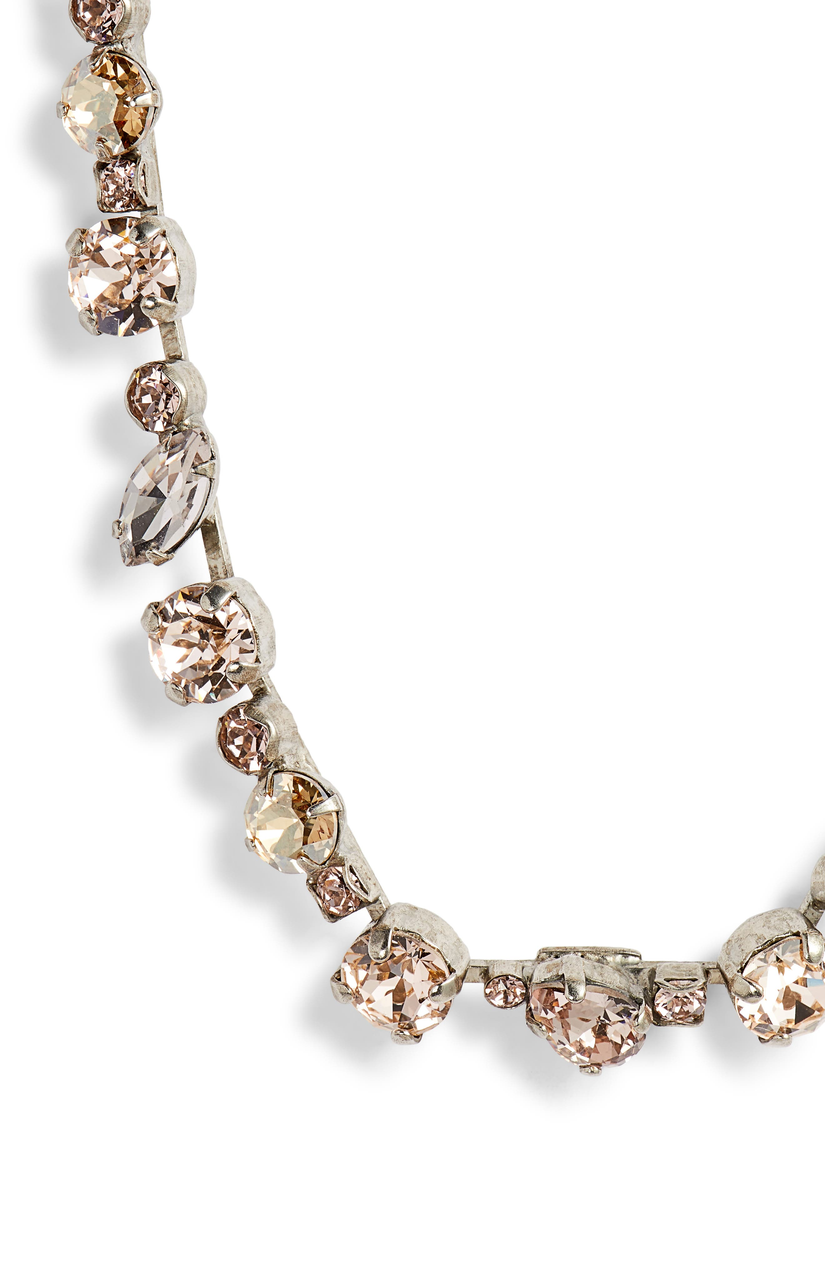Crystal Collective Necklace,                             Alternate thumbnail 2, color,                             Pink