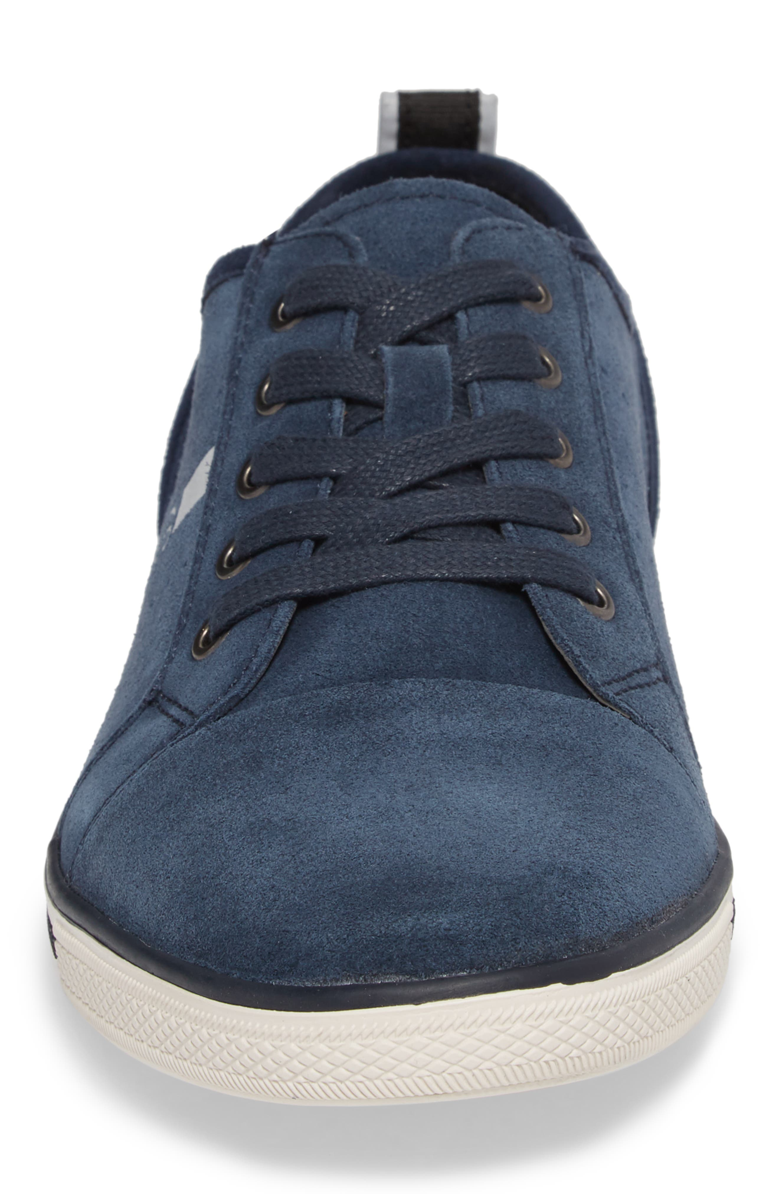 Center Low Sneaker,                             Alternate thumbnail 4, color,                             Navy