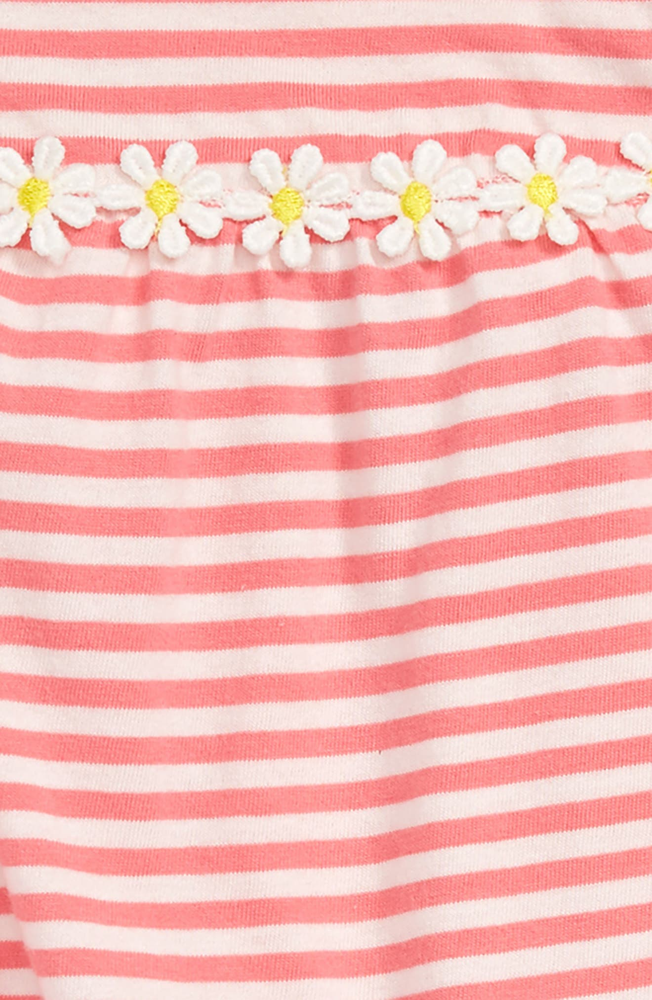 Jersey Summer Dress,                             Alternate thumbnail 2, color,                             Strawberry Sorbet Pink/ Ivory