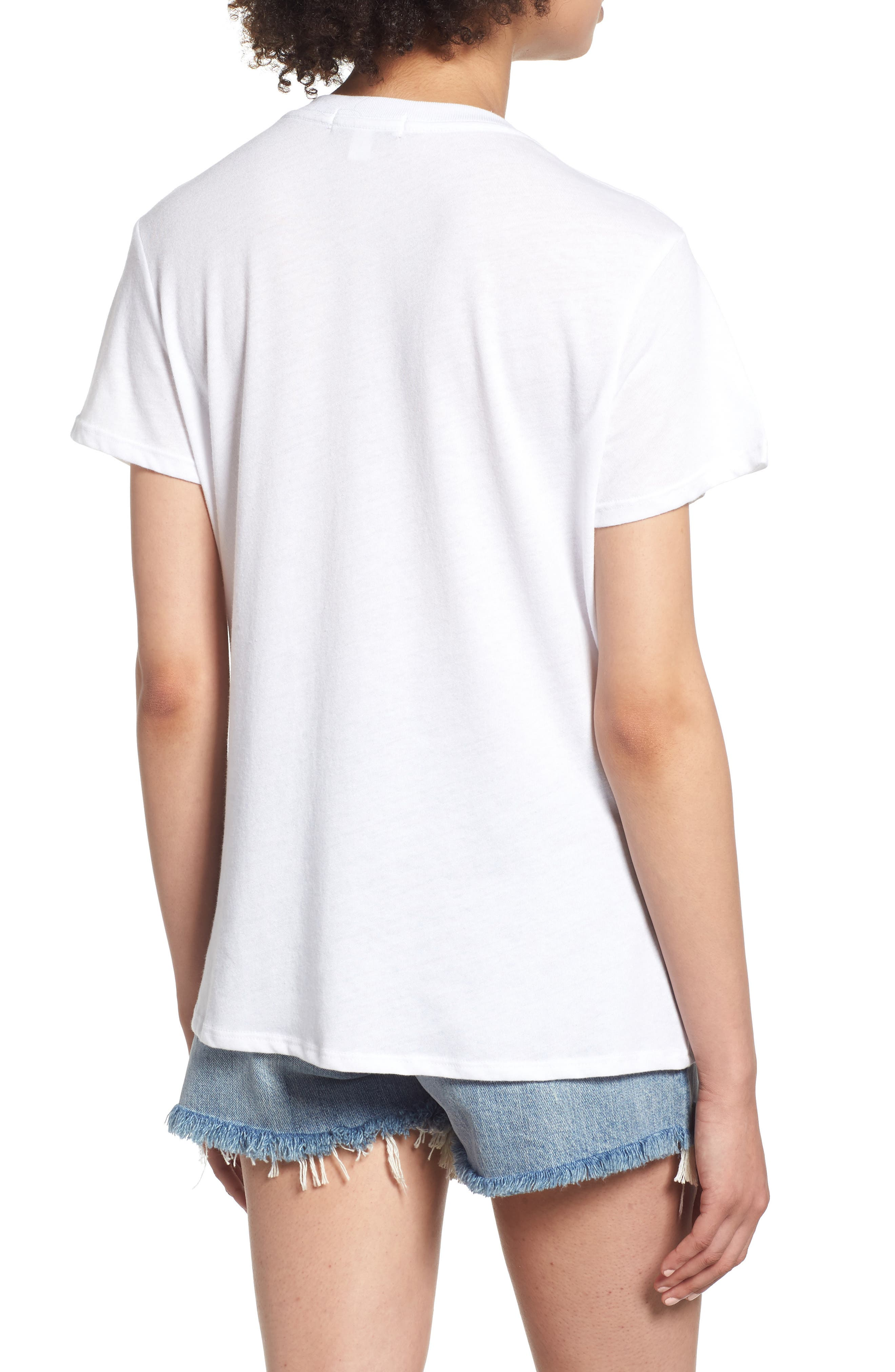 Beet It Slouched Tee,                             Alternate thumbnail 2, color,                             White