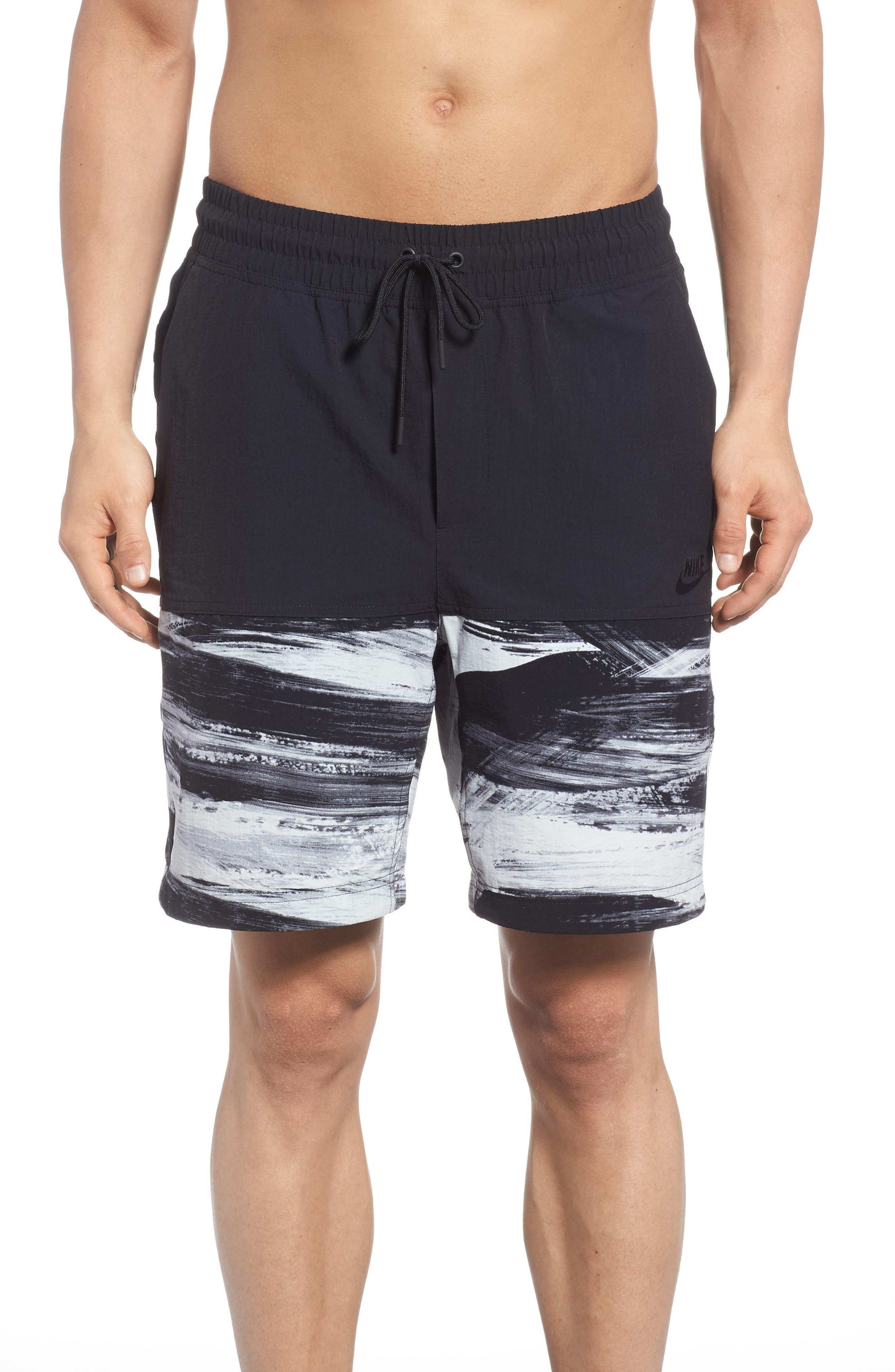 NSW Franchise GX1 Shorts,                             Main thumbnail 1, color,                             Black/ Black