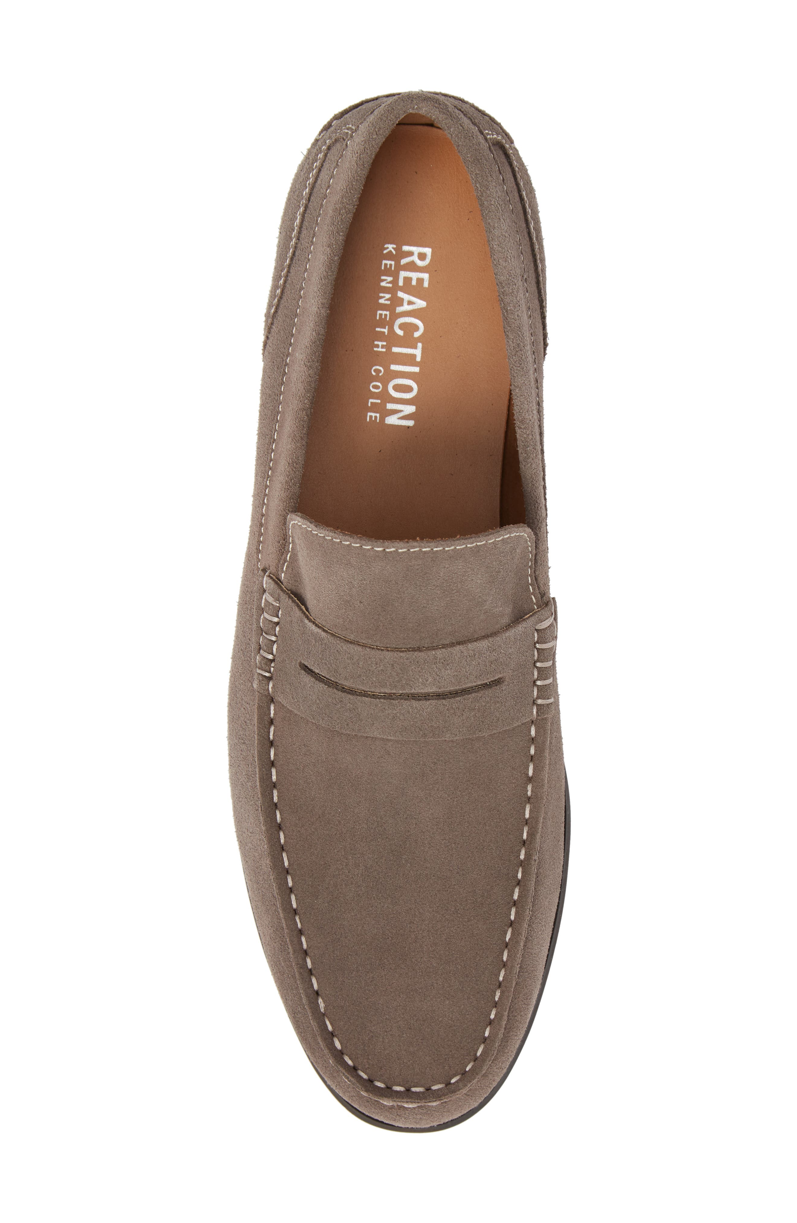 Crespo Penny Loafer,                             Alternate thumbnail 5, color,                             Grey