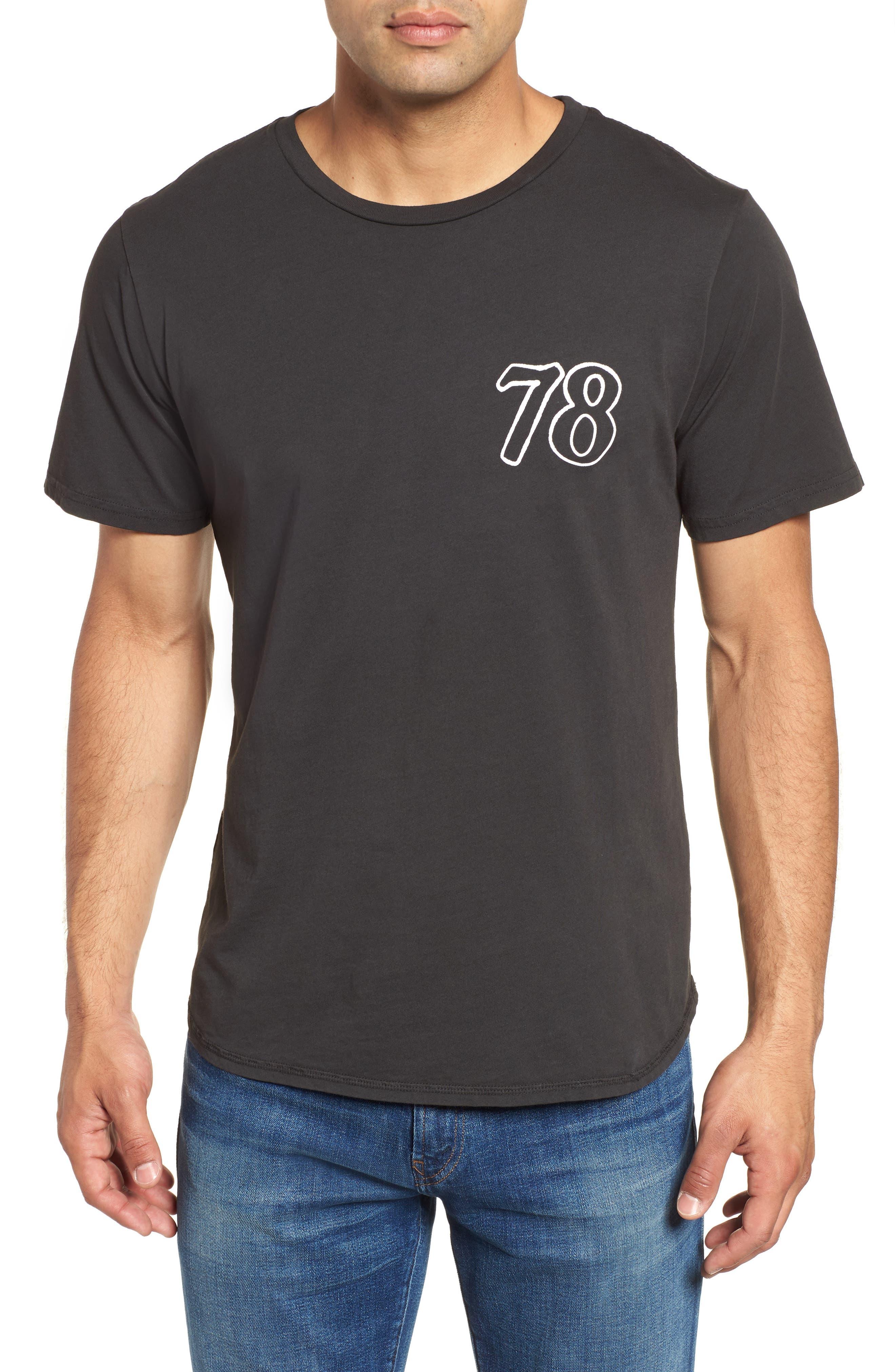 Only the Good Crewneck T-Shirt,                             Main thumbnail 1, color,                             Dusty Black