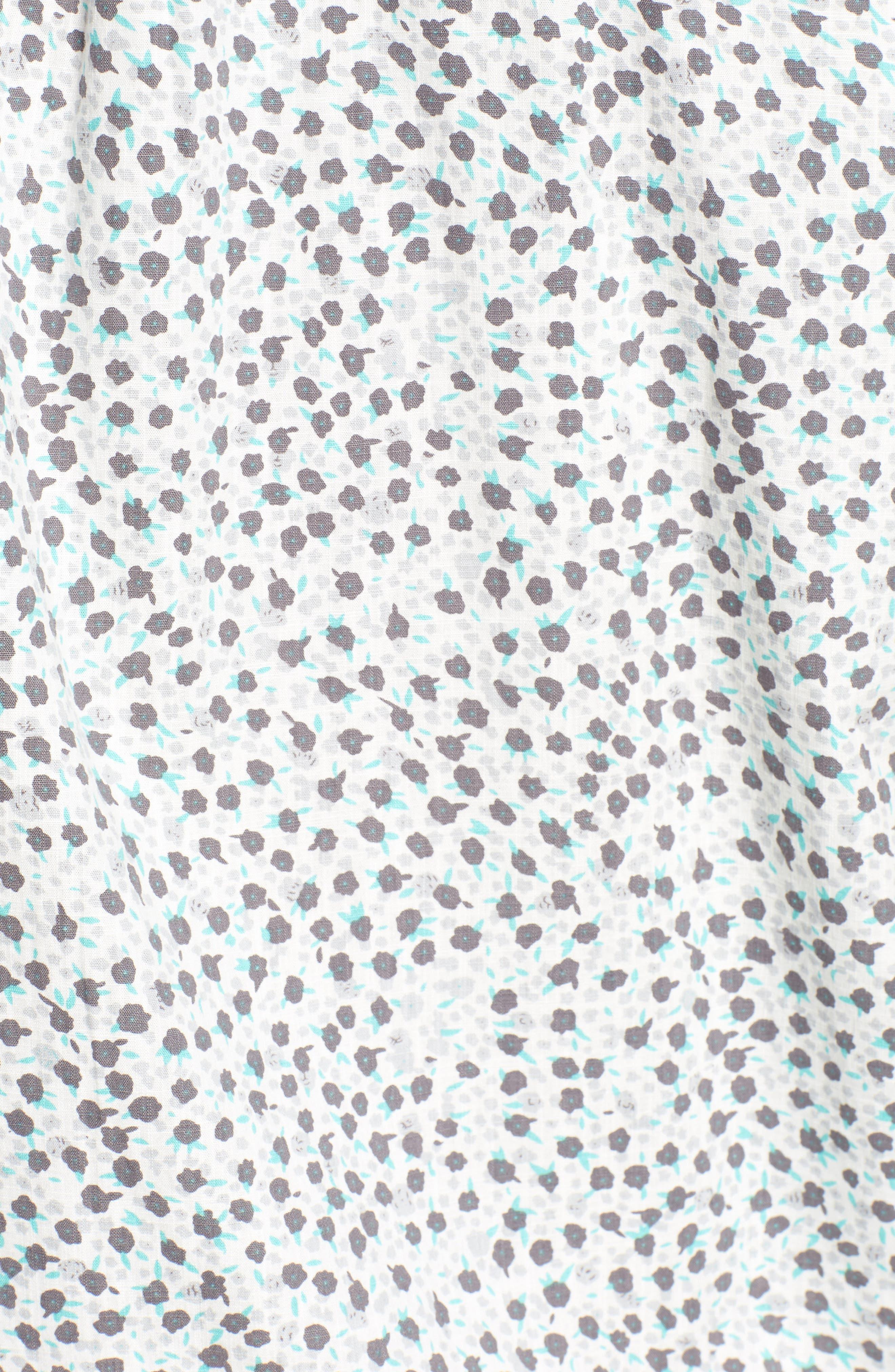 El Mirador Woven Shirt,                             Alternate thumbnail 5, color,                             Off White