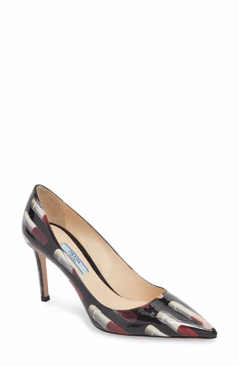 10f8fe7f795 Prada Pointy Toe Lipstick Pump (Women)