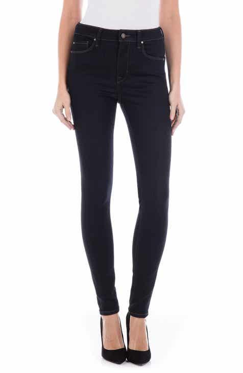 Fidelity Denim Gwen High Waist Skinny Jeans (Excel Rinse) da8922a3d304