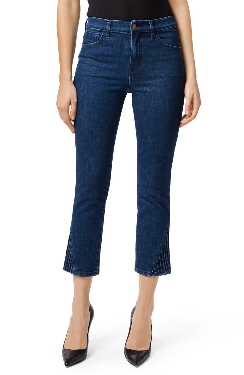 Ruby High Waist Crop Cigarette Jeans